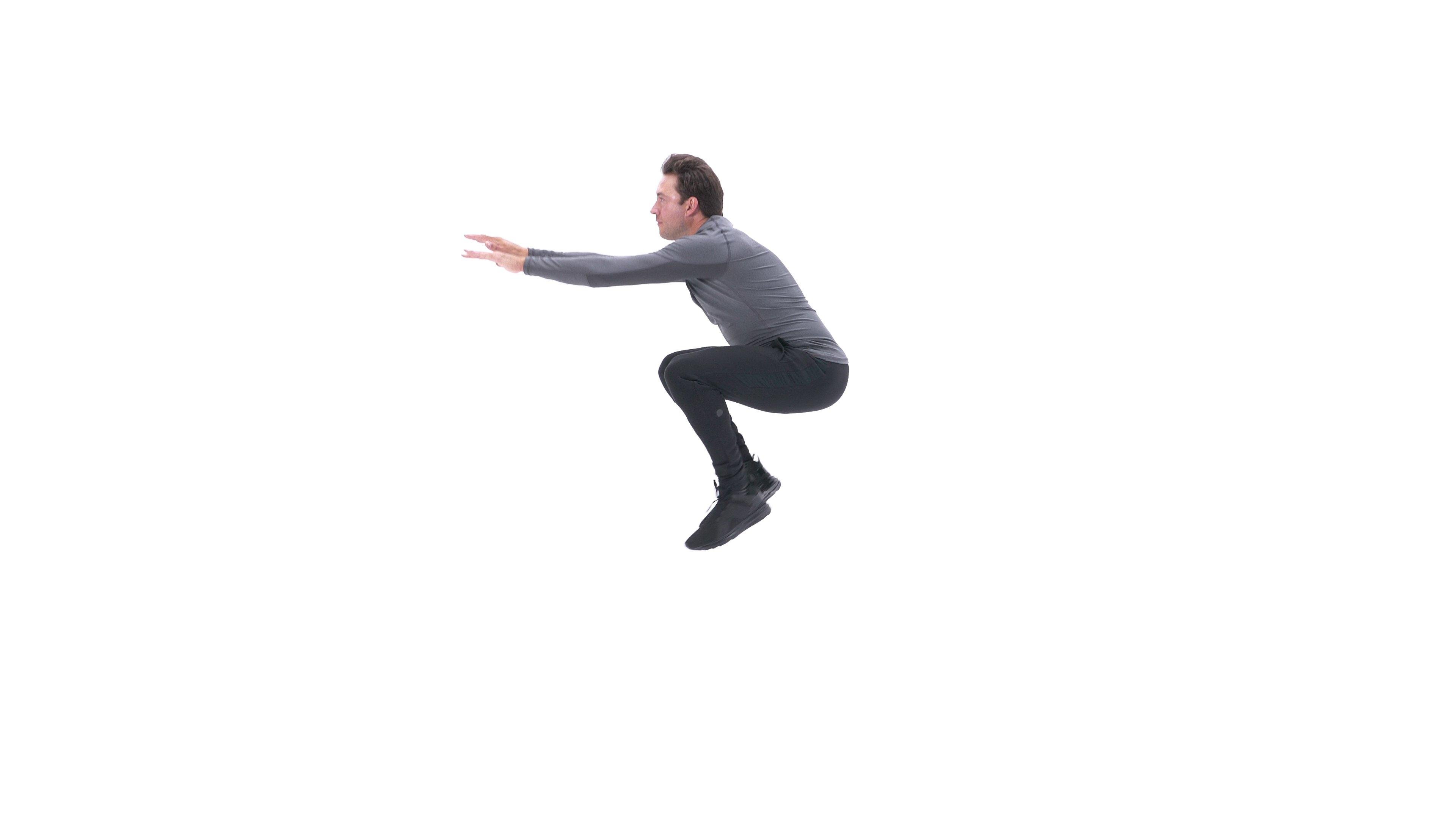 Burpee Tuck Jump image