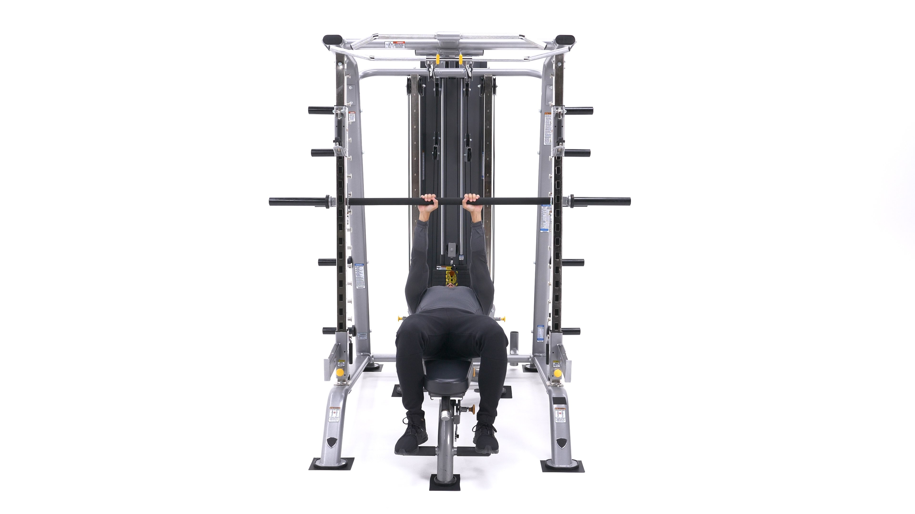 Smith Machine Close-Grip Bench Press image