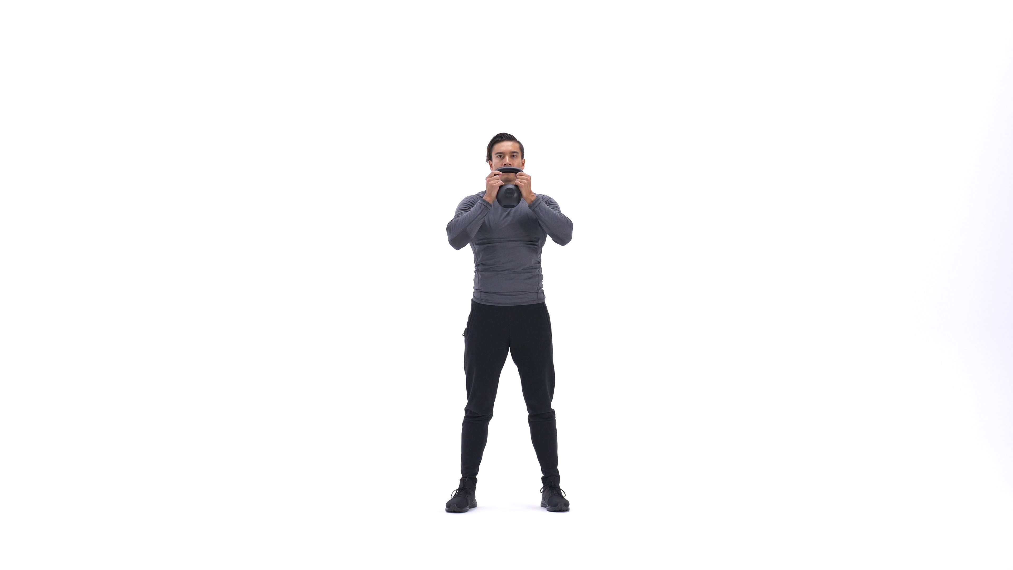 Kettlebell side squat image