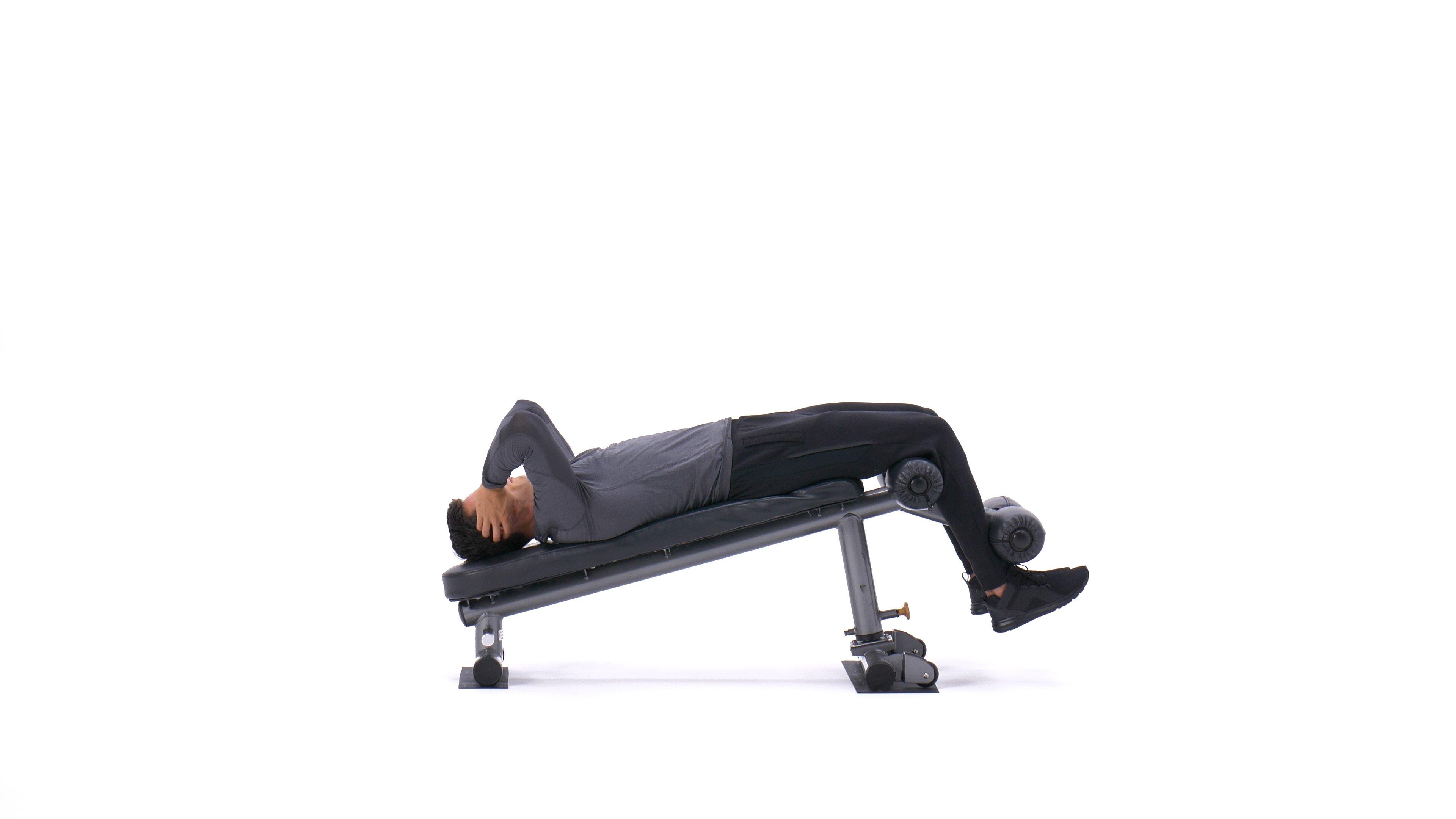 Decline sit-up image