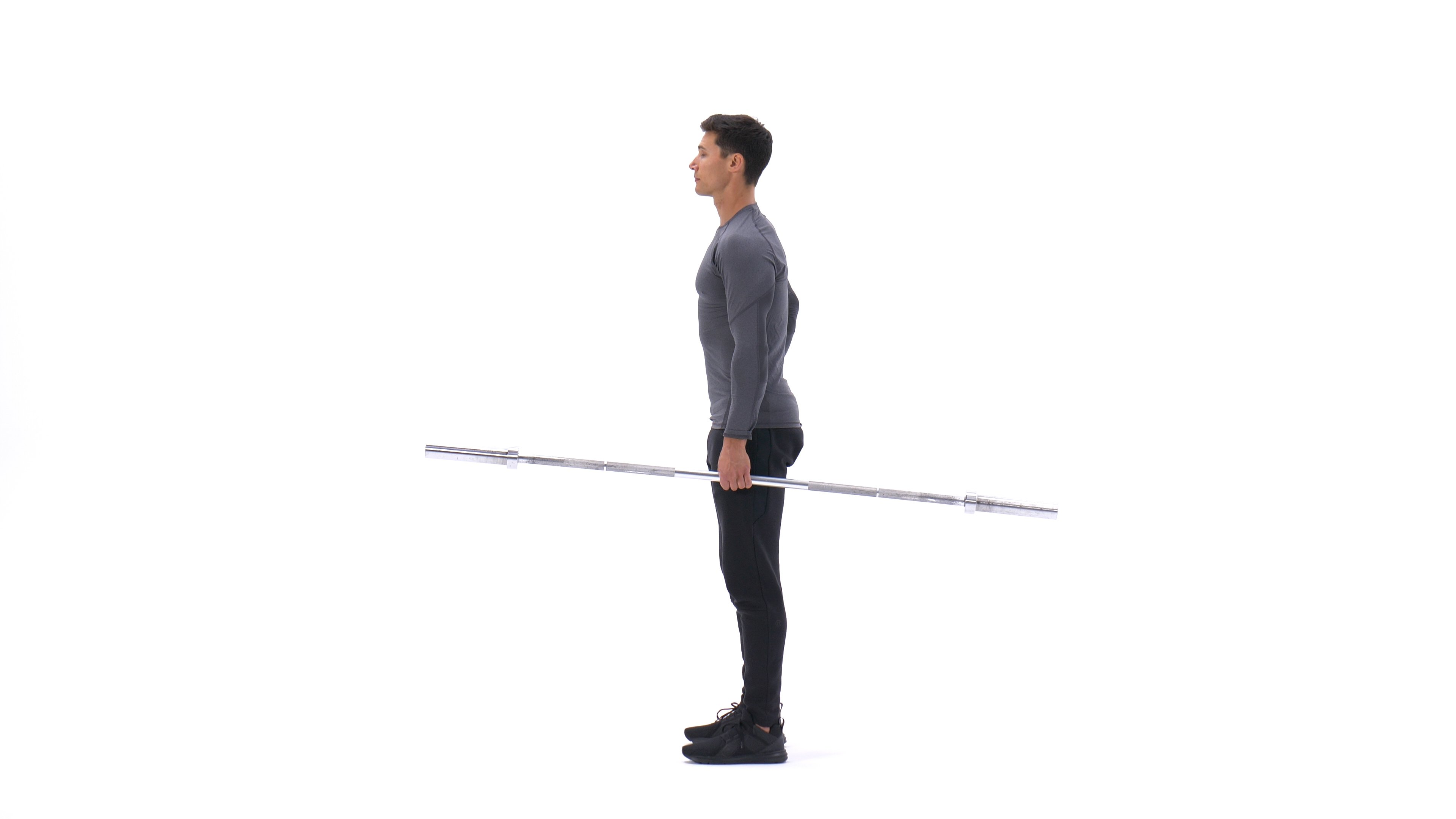 Single-arm side deadlift image