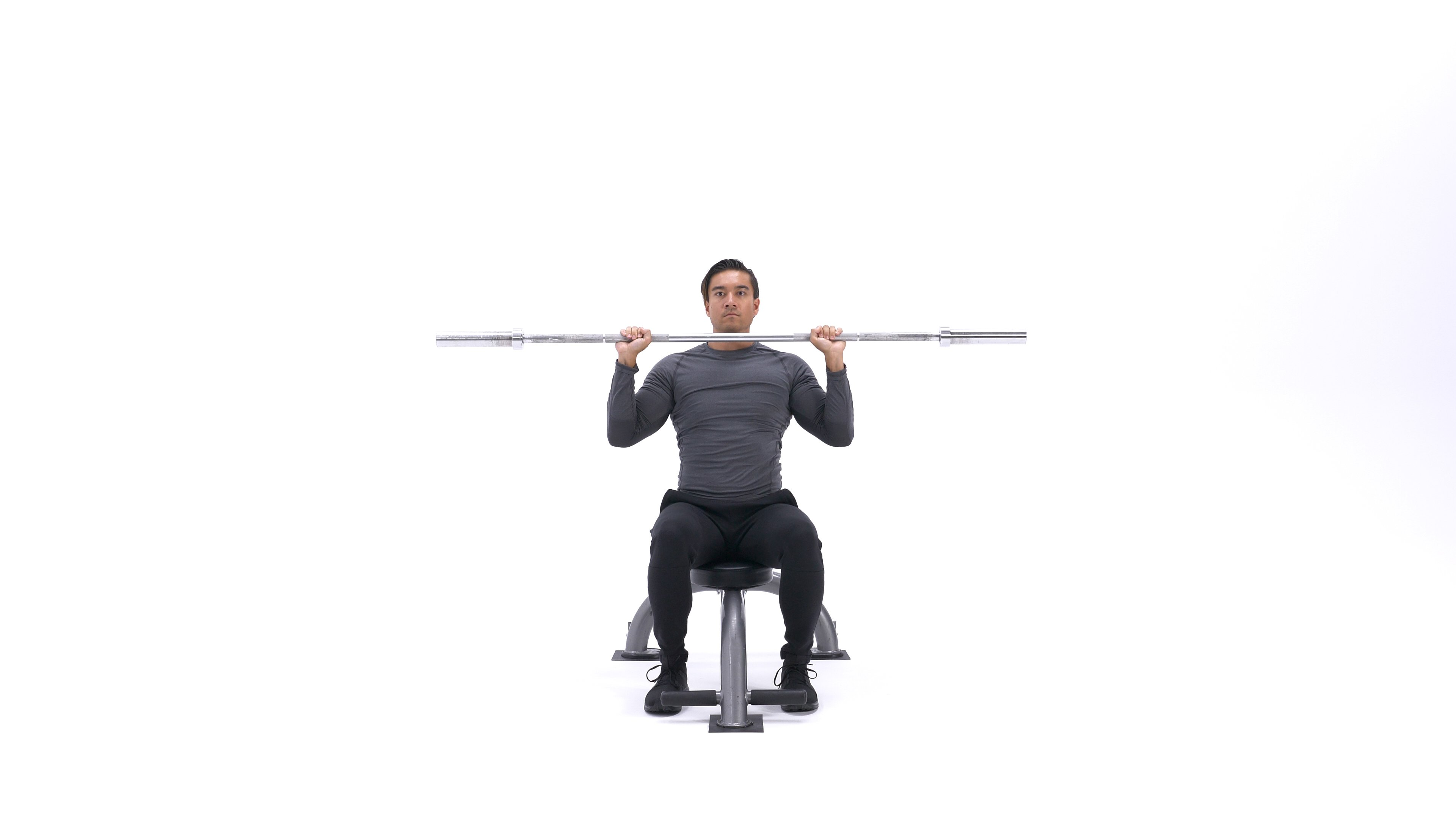 Barbell Shoulder Press image