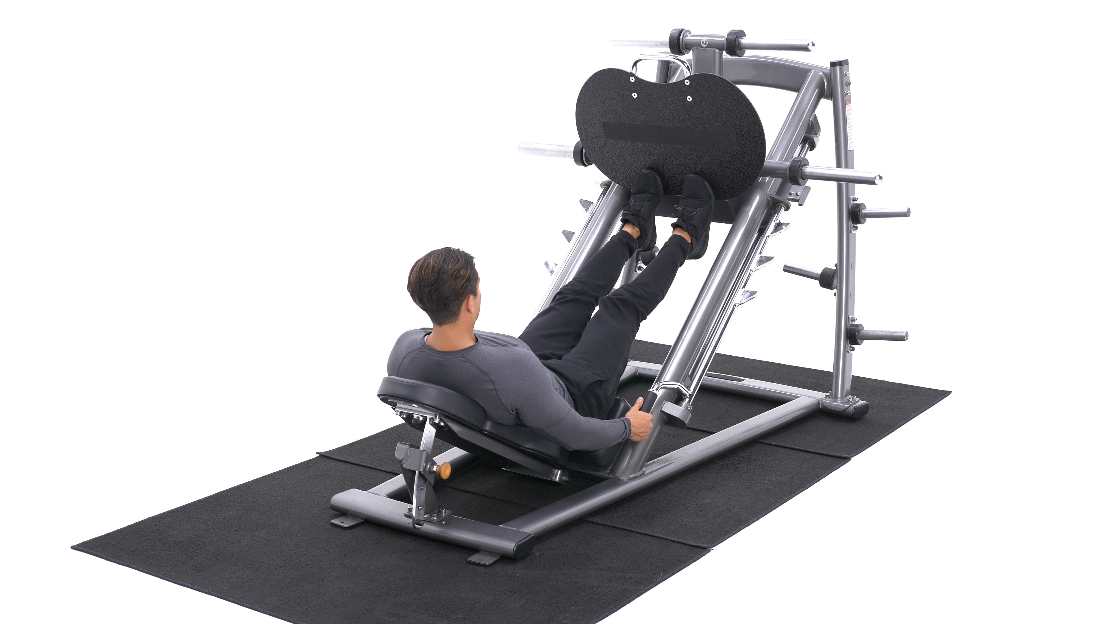 Calf Press On The Leg Press Machine image