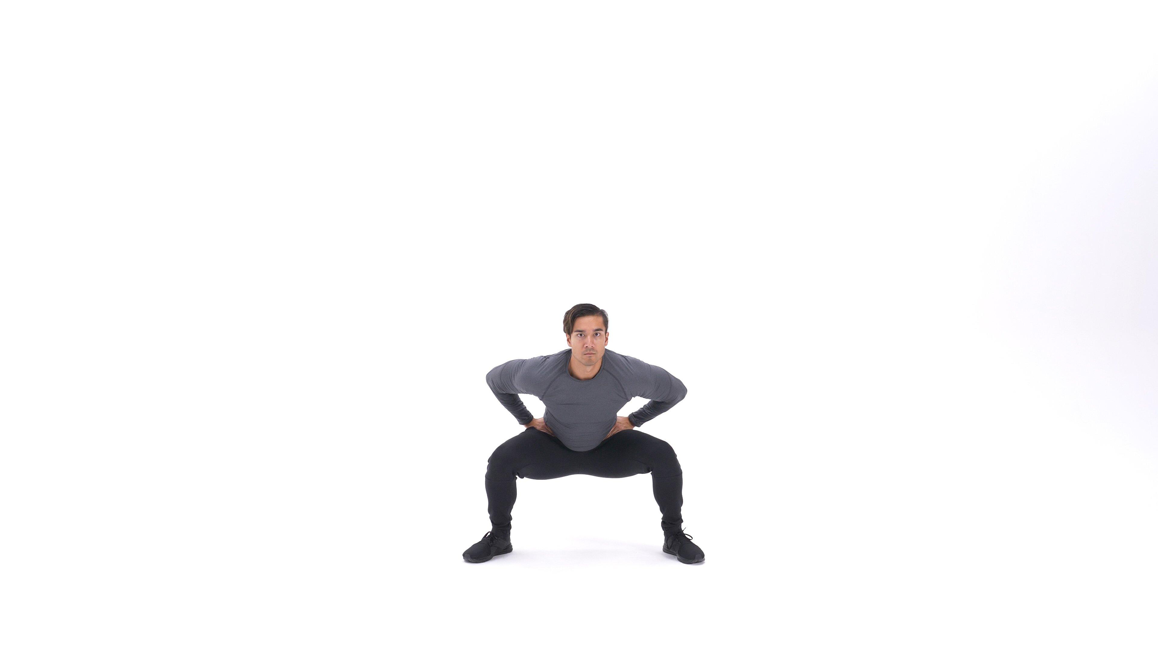 Pop squat image