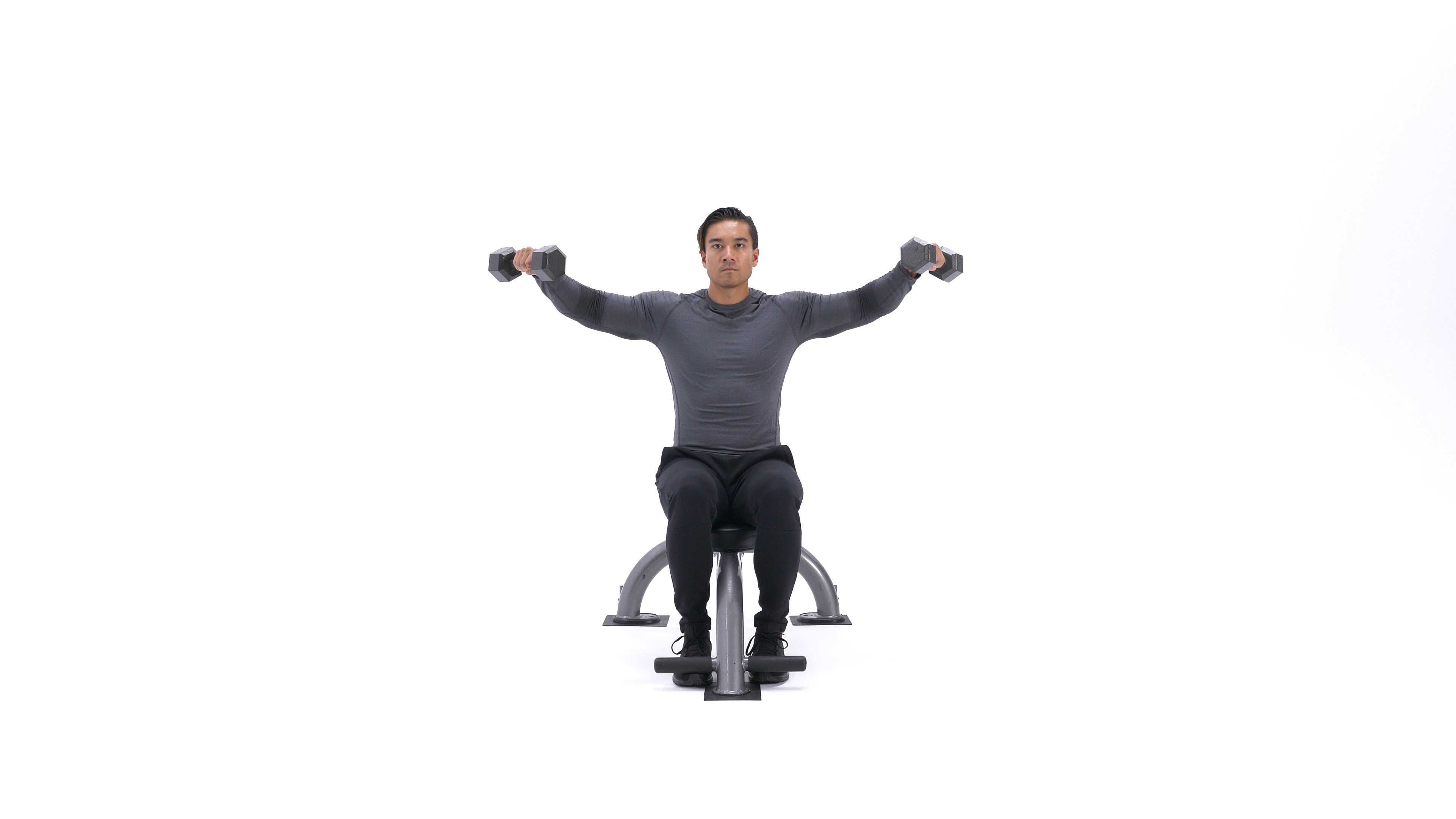 Seated Side Lateral Raise image