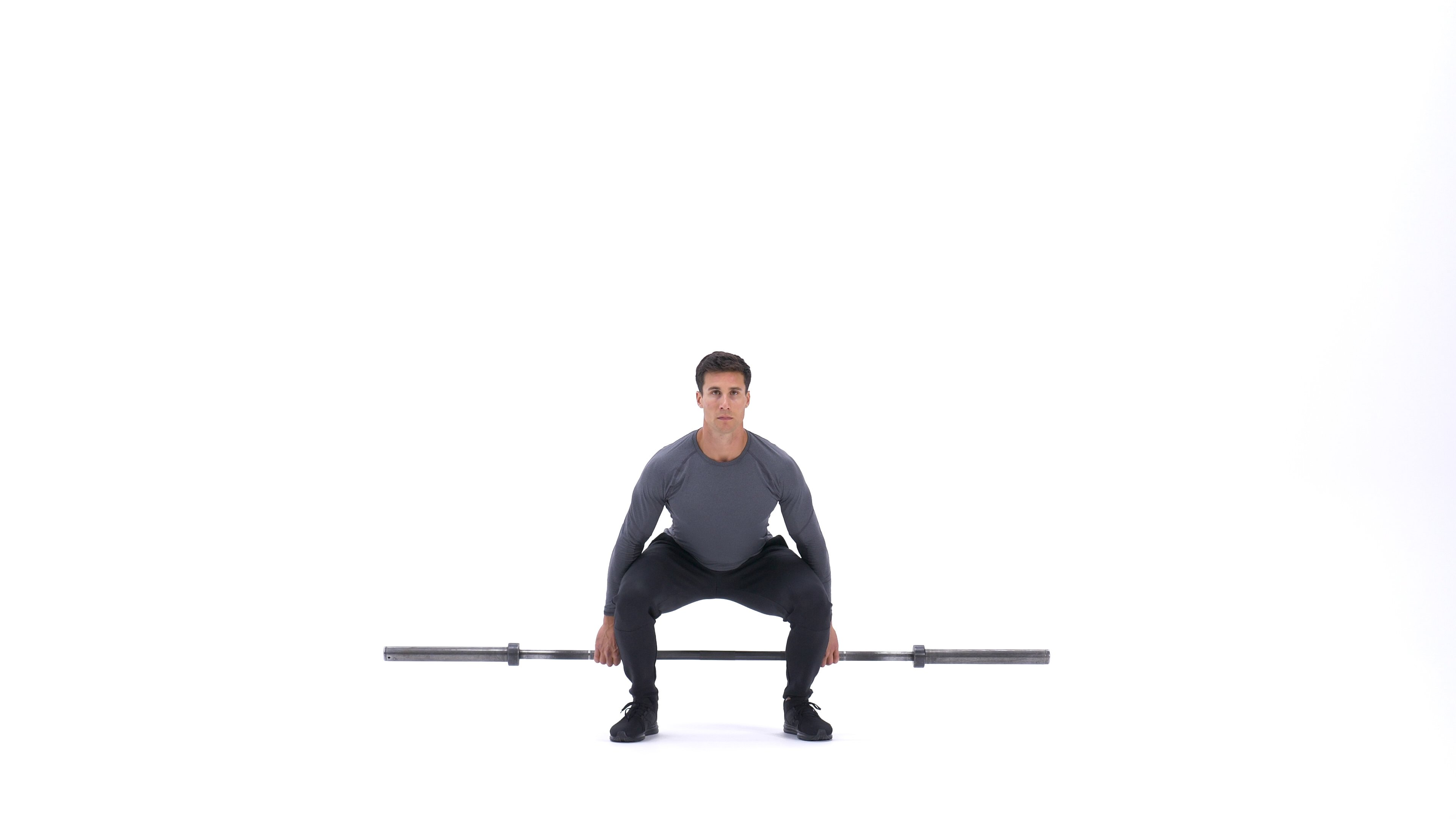 Barbell hack squat image