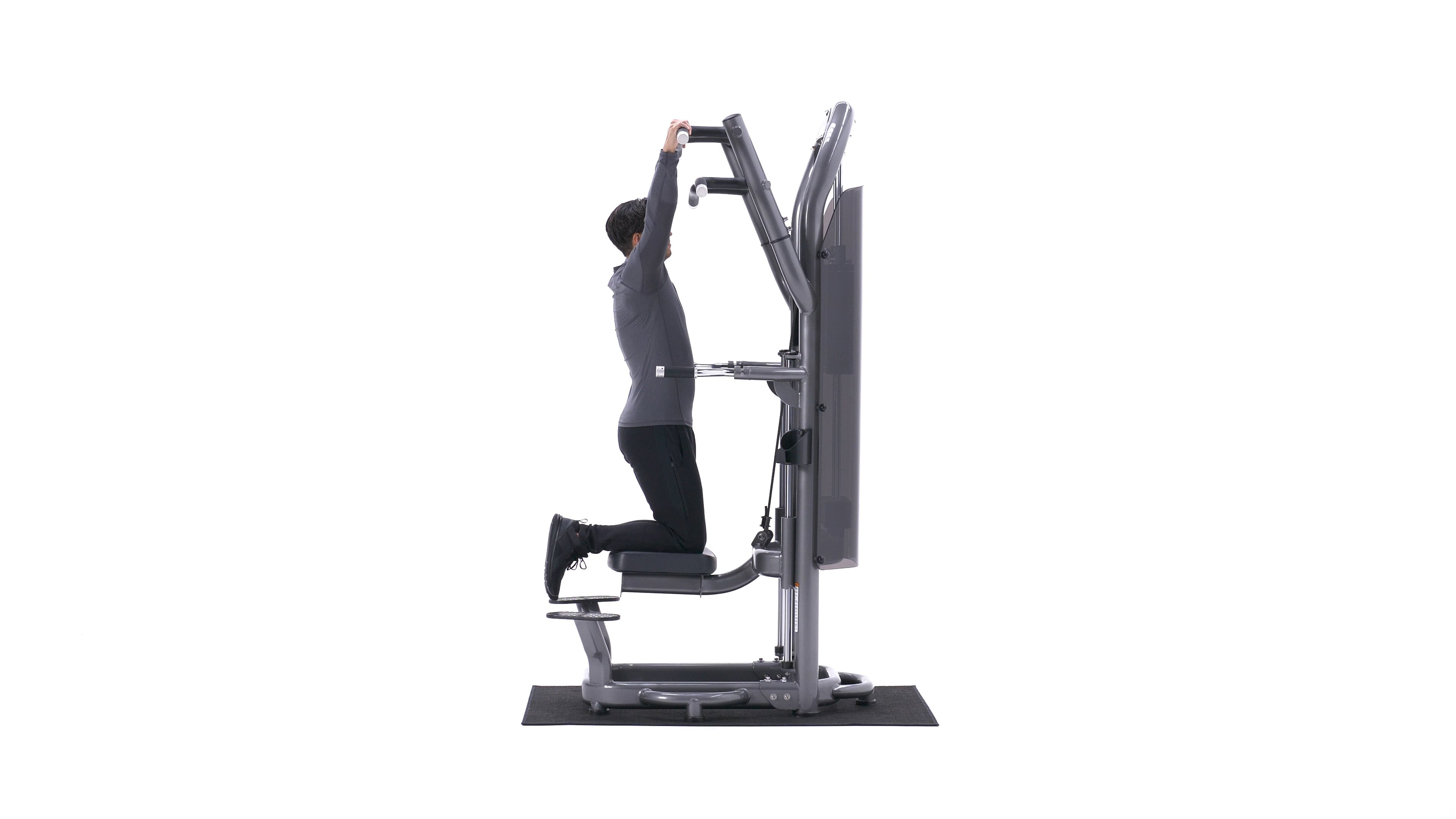 Machine-assisted pull-up image