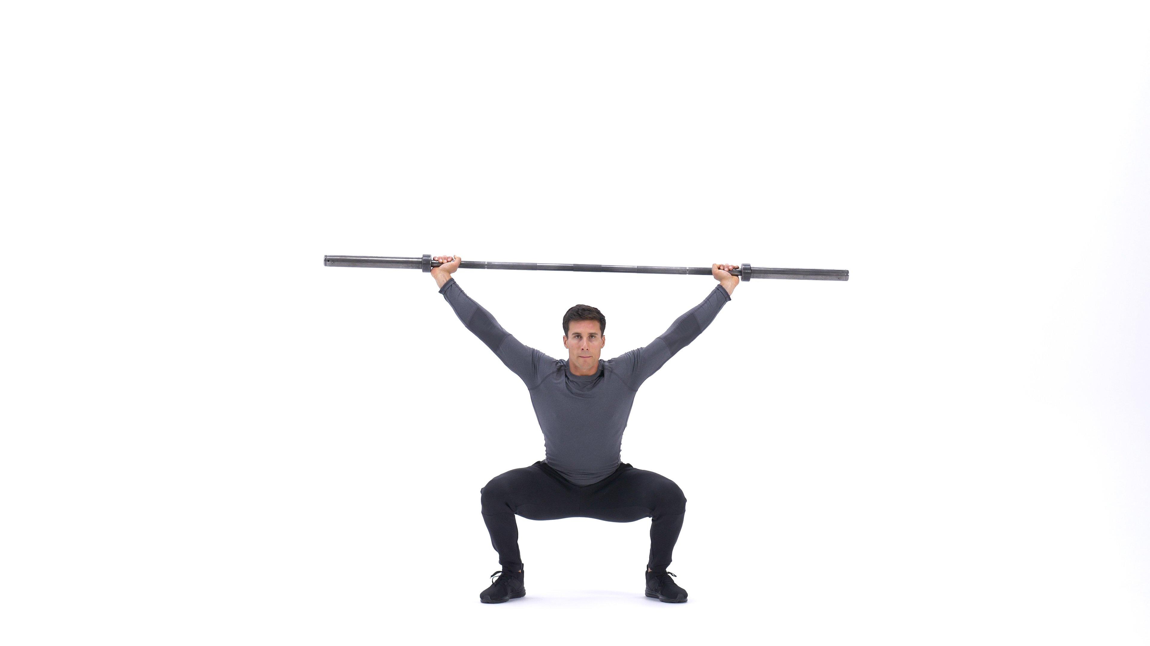 Overhead squat image