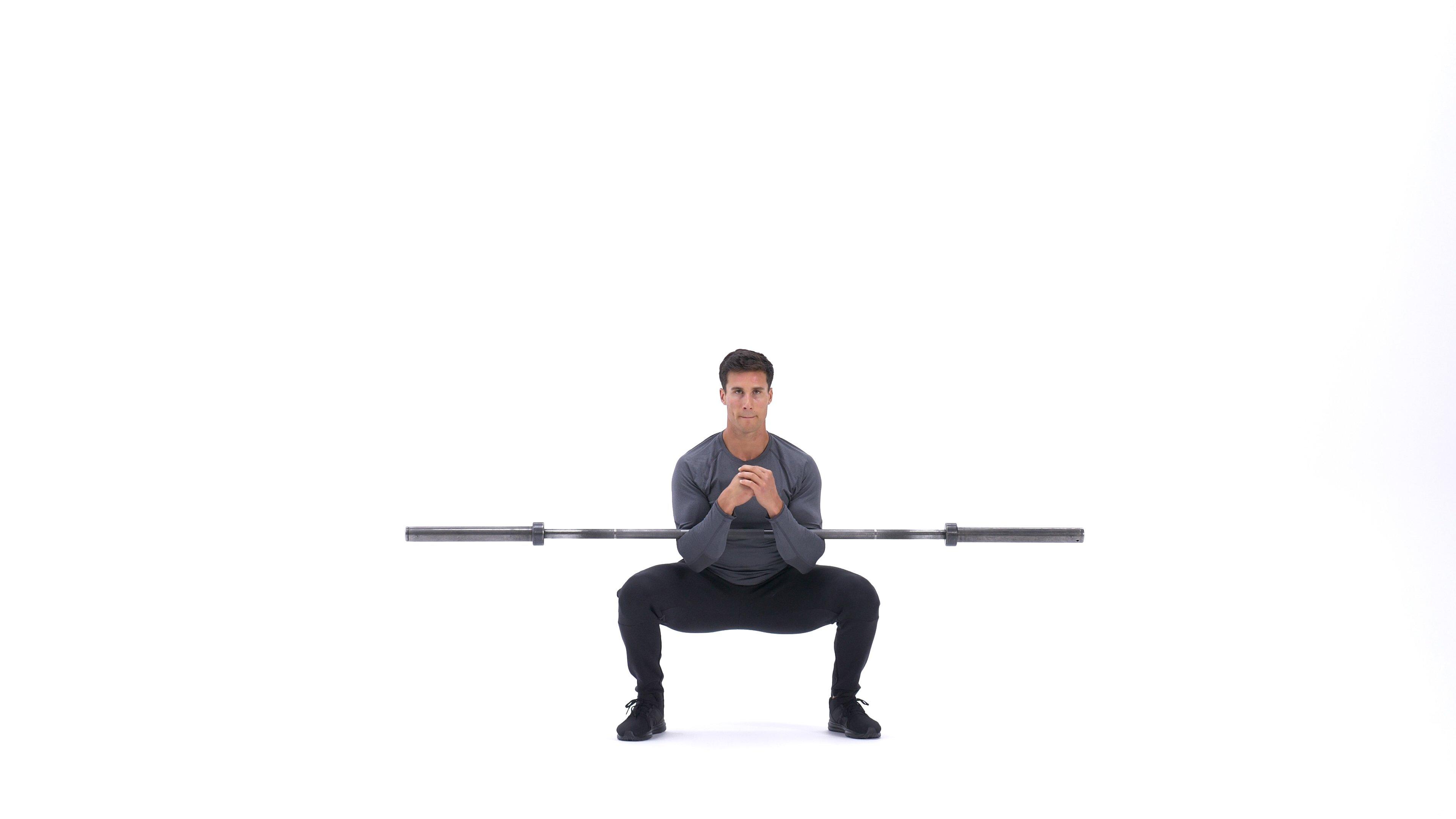 Zercher Squat Exercise Videos Guides Bodybuilding Com