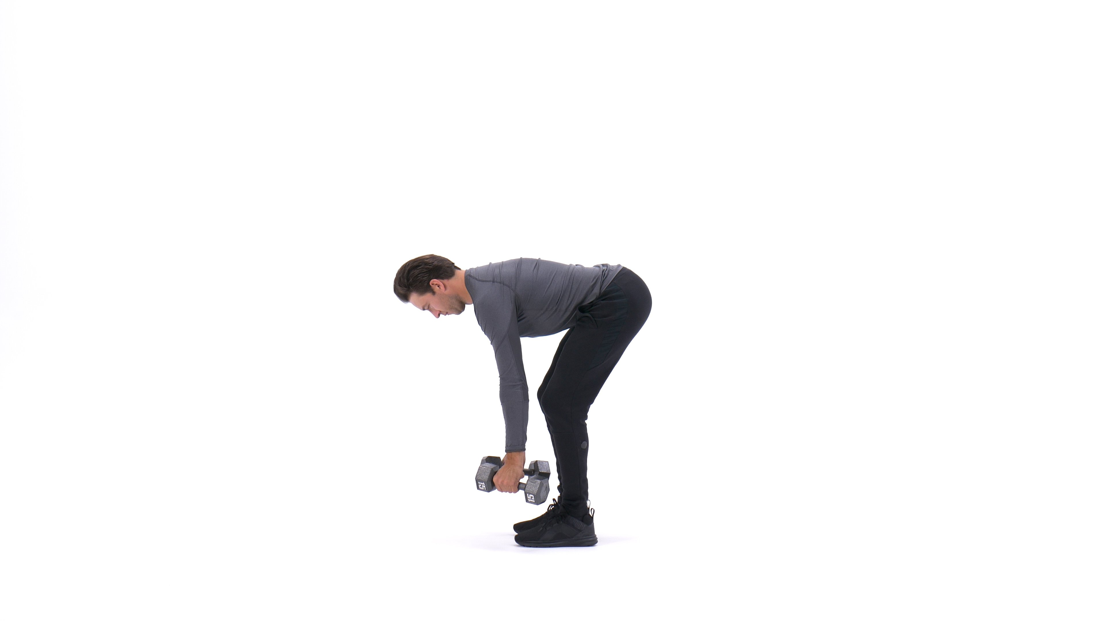 Dumbbell bent-over row image