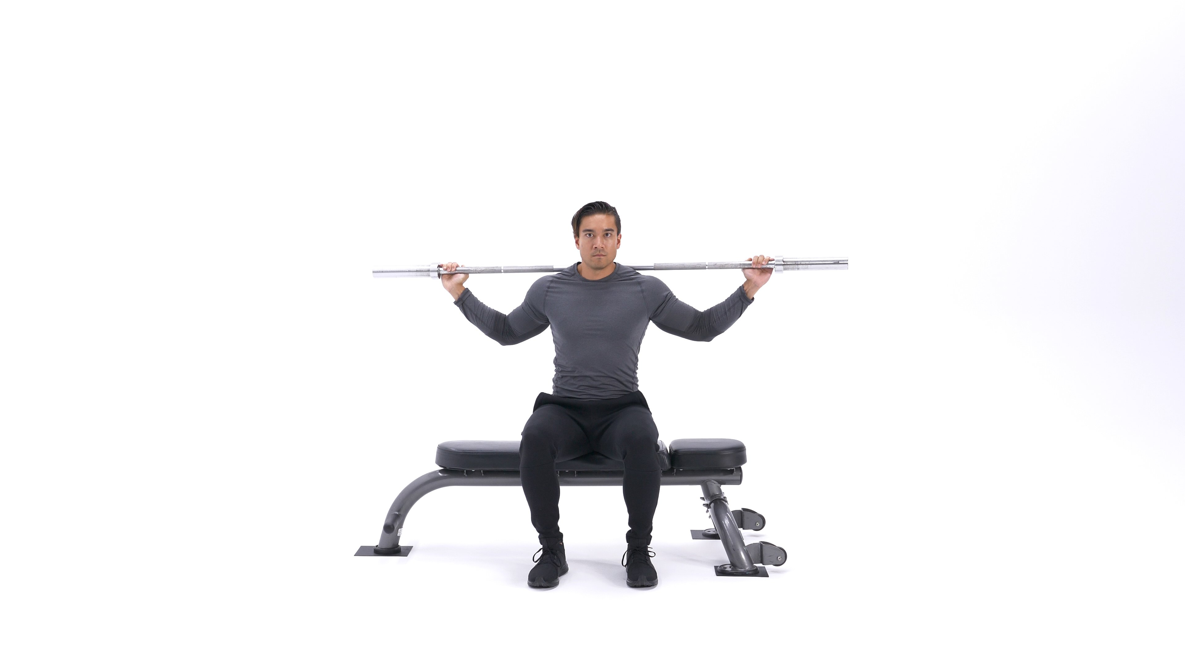 Seated bar twist image