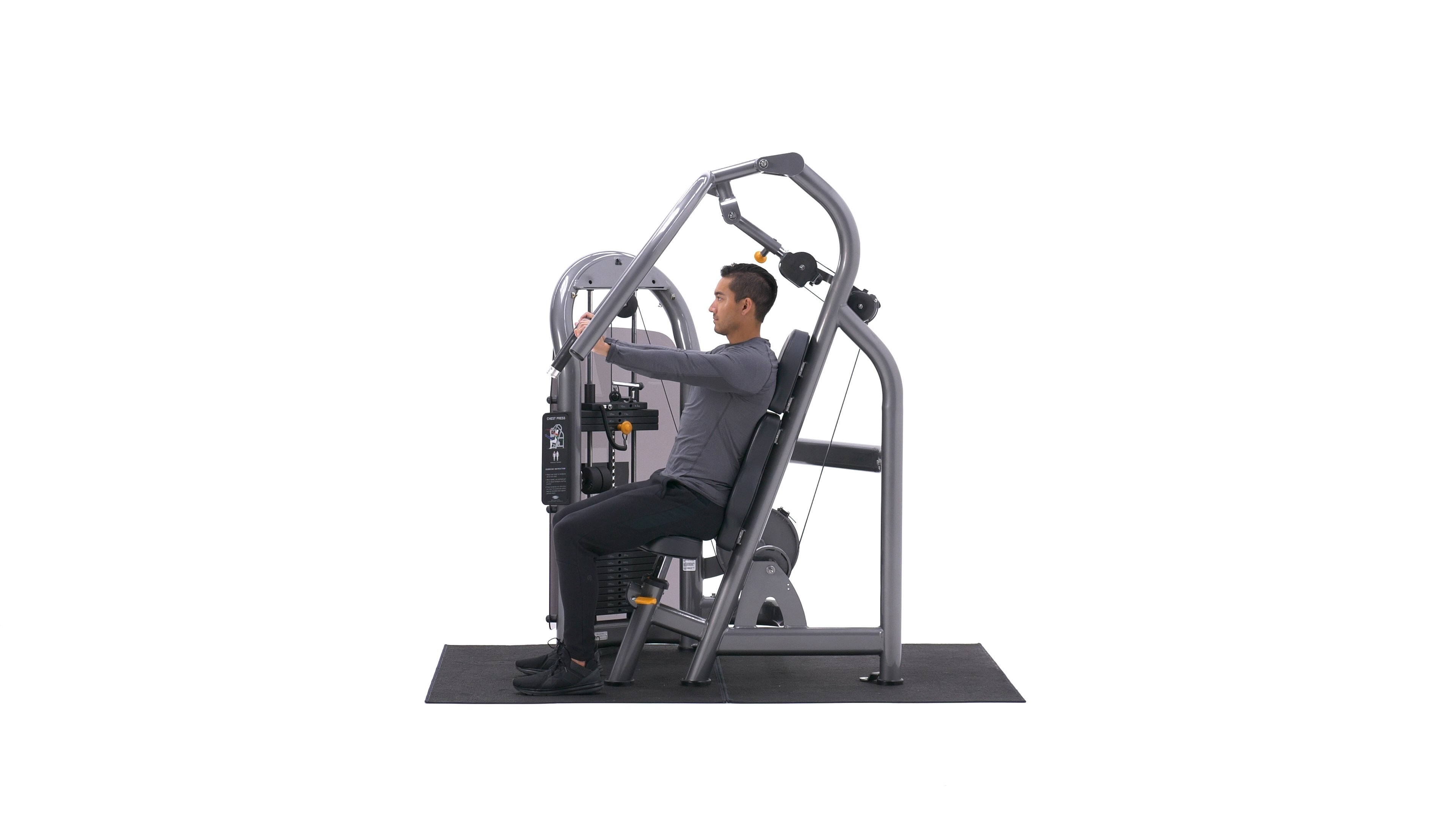 Machine Bench Press image