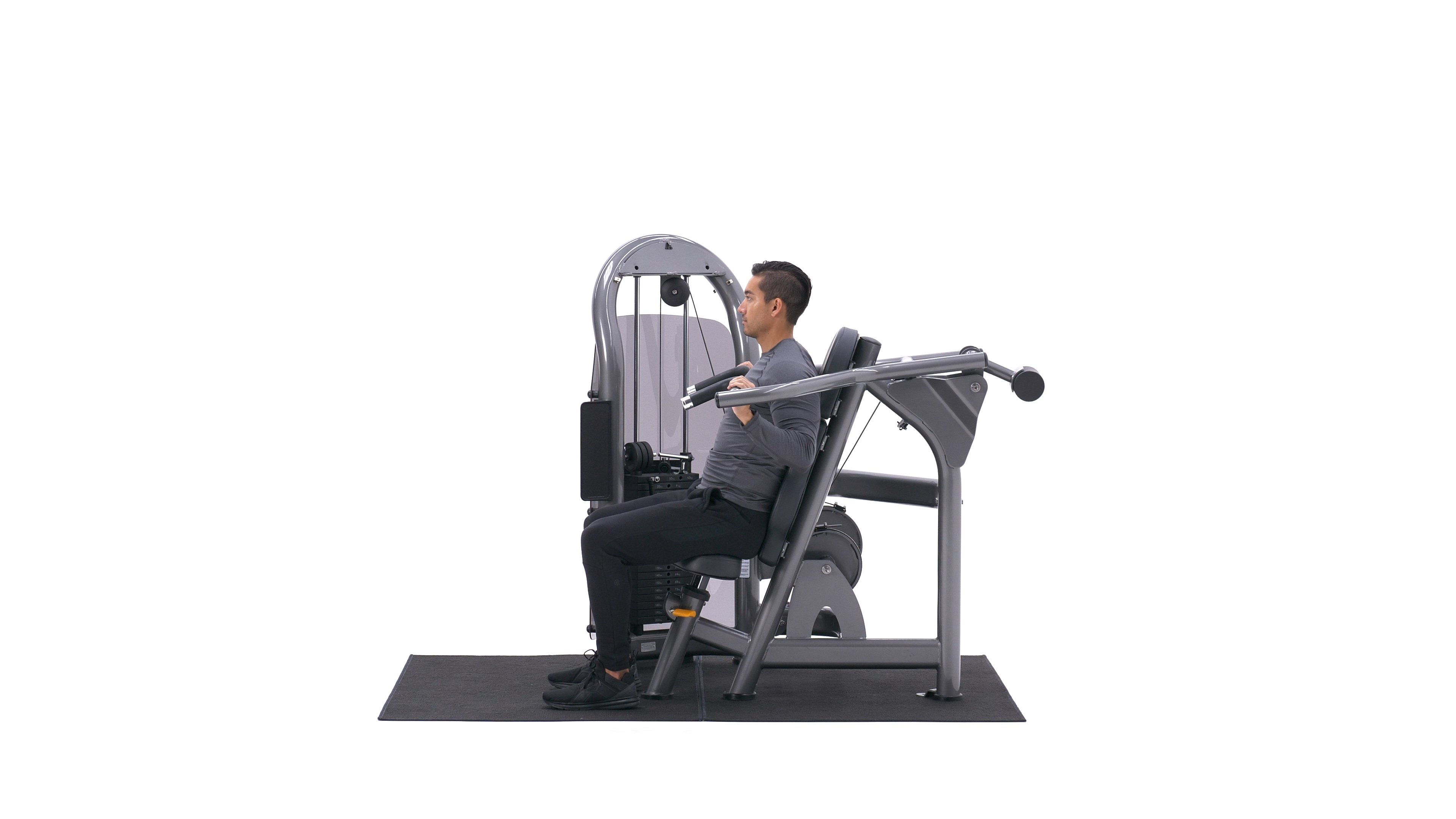 Machine shoulder press image