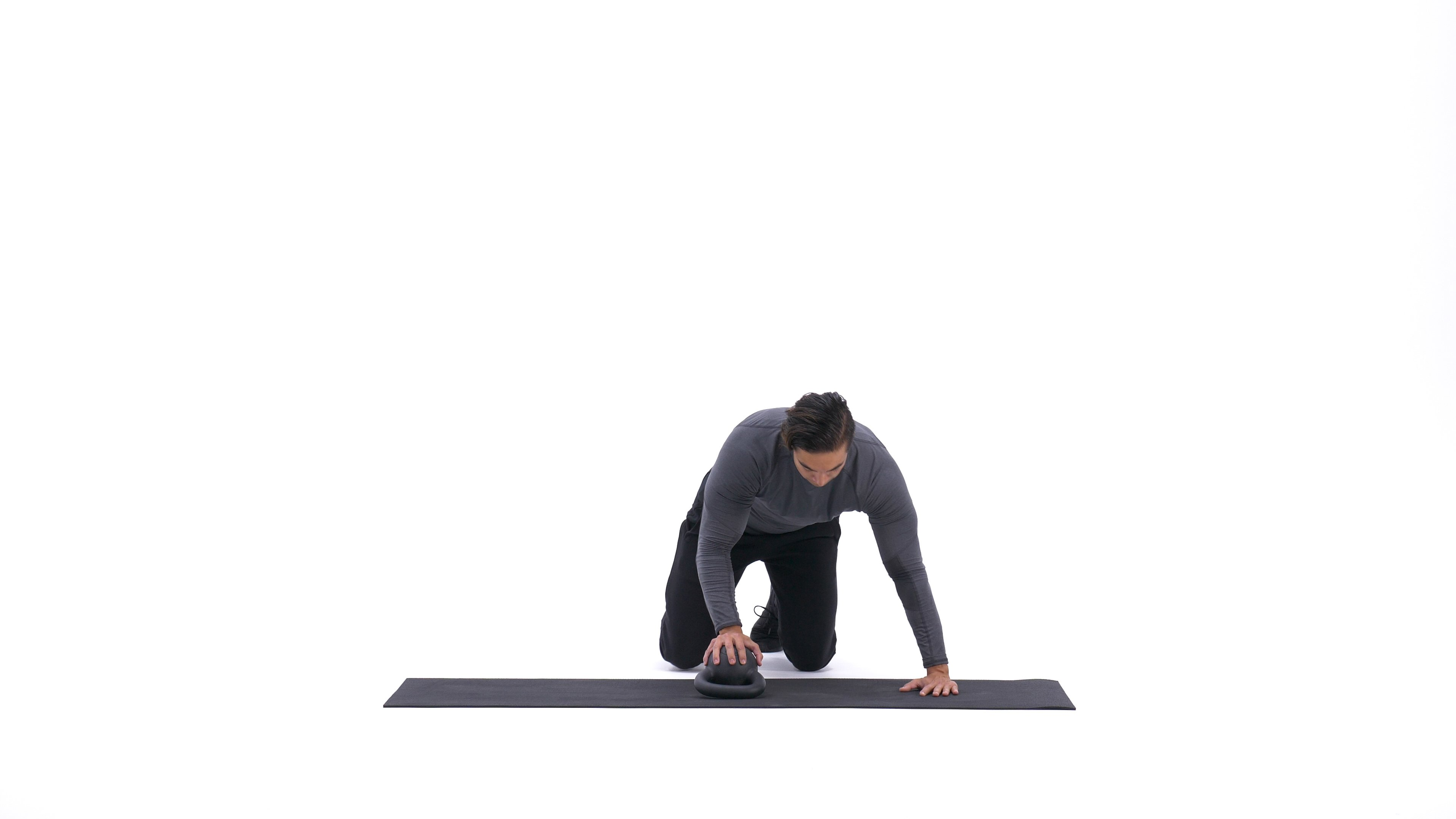 Kettlebell plyo push-up image