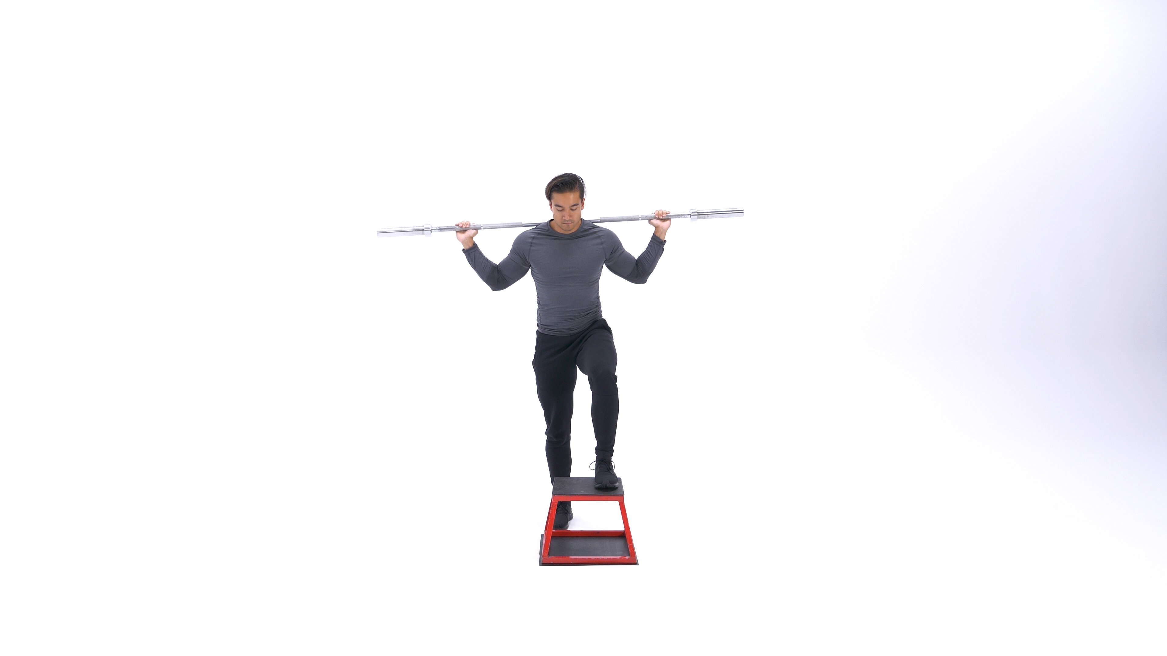 Barbell step-up image