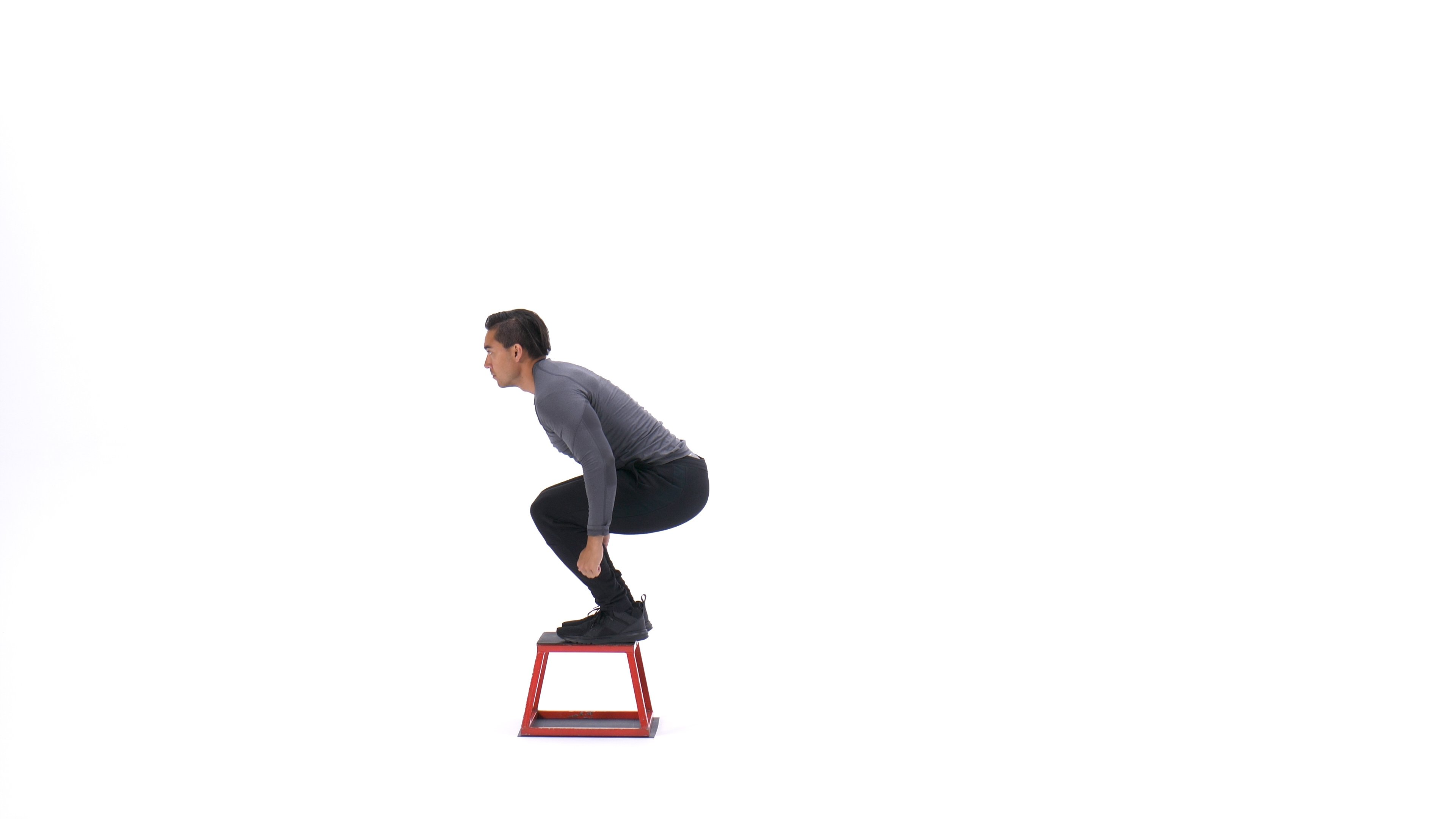Burpee box jump image