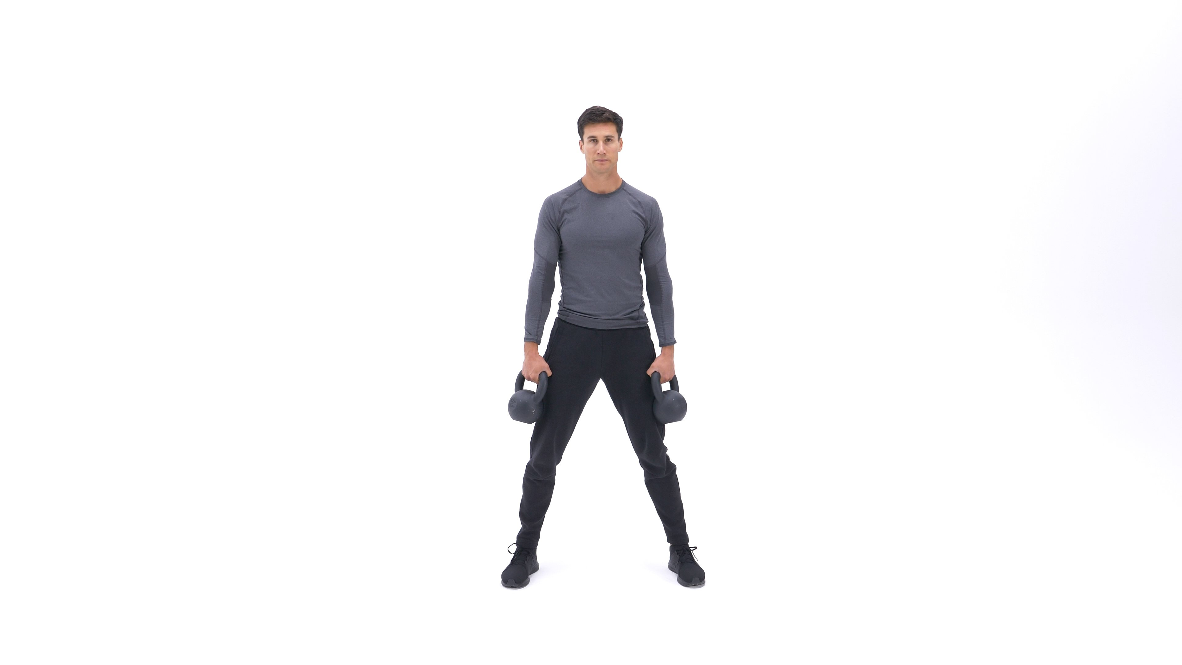 Kettlebell Squat Clean image