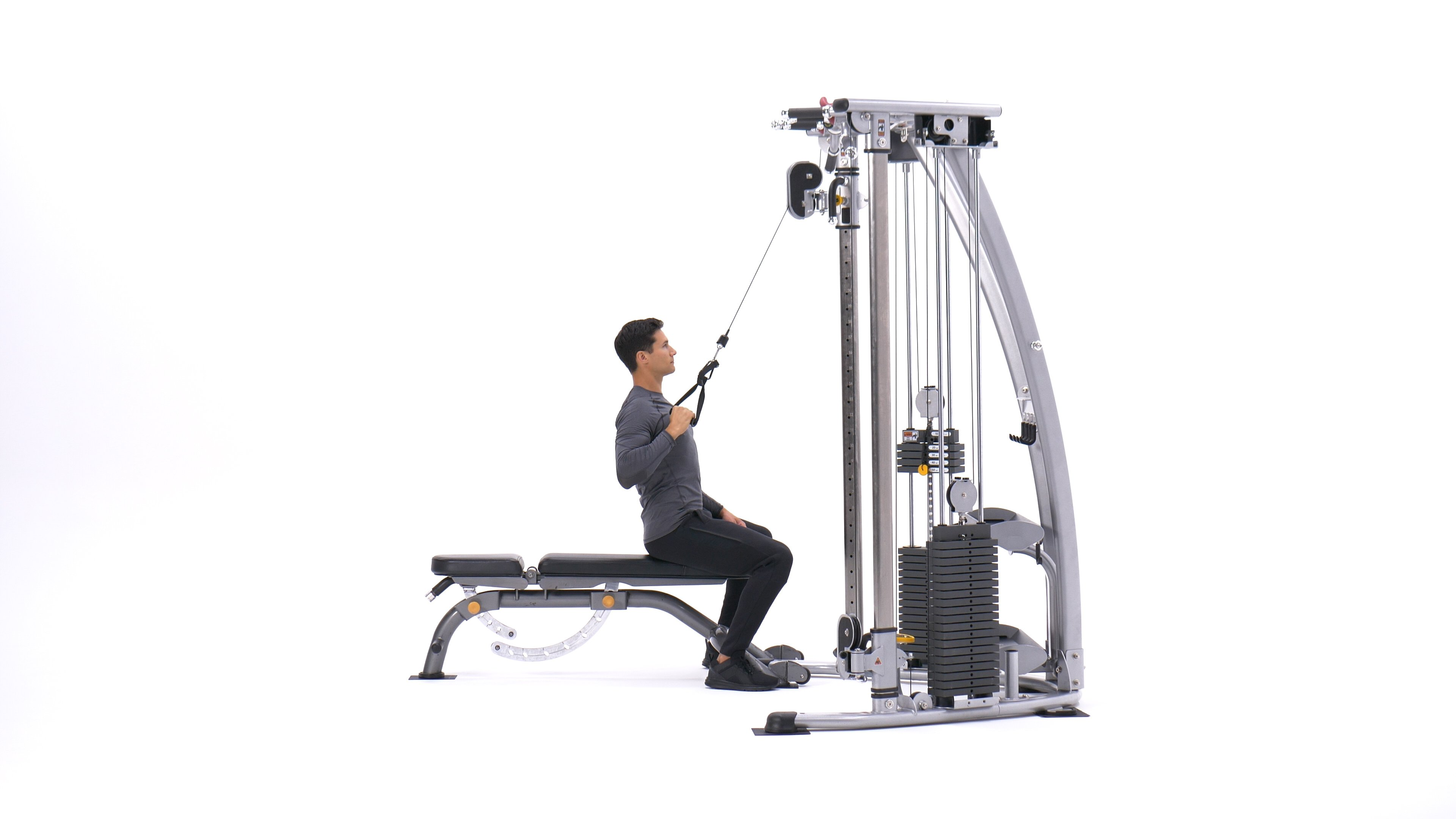 Single-arm pull-down image