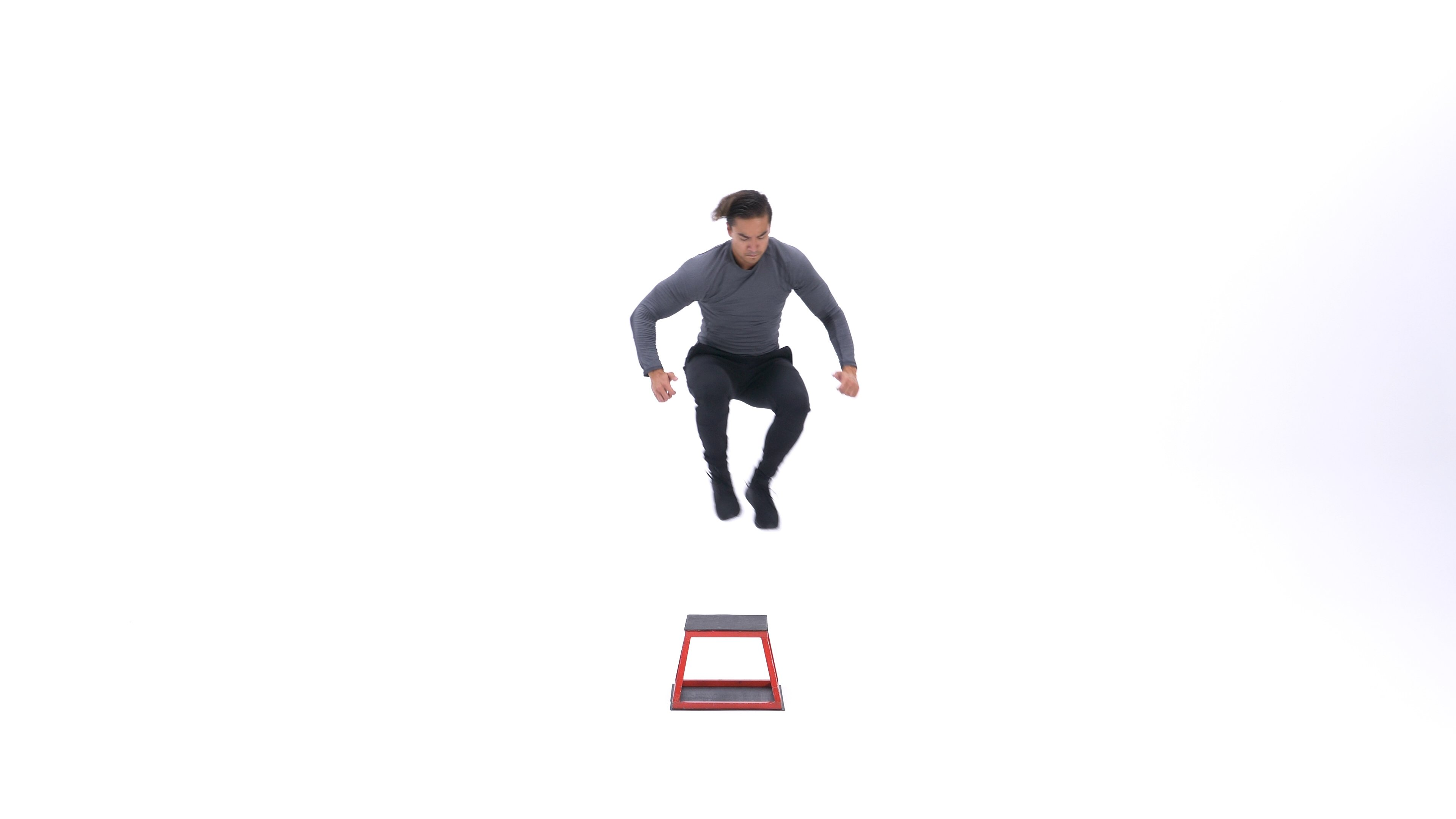 Lateral box jump image