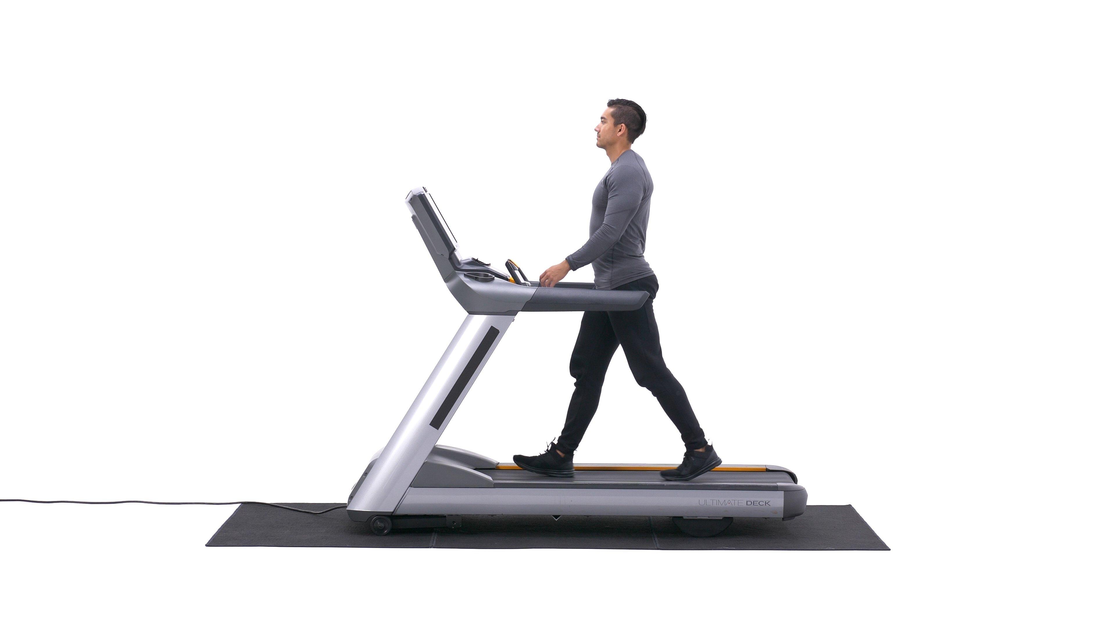 Treadmill walking image