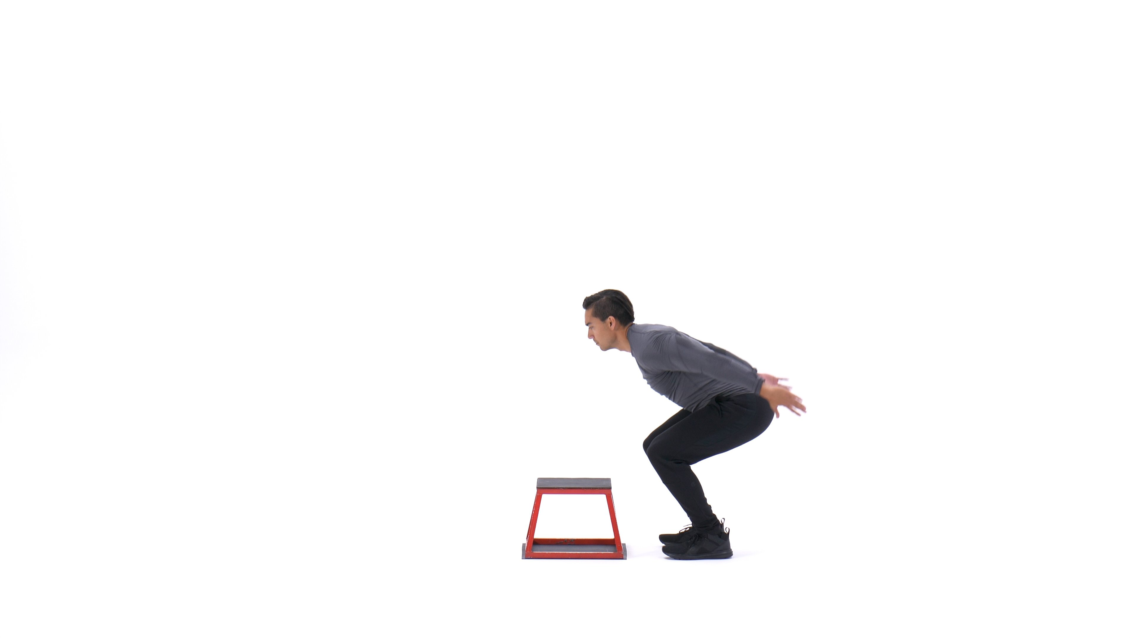 Over bench jump image