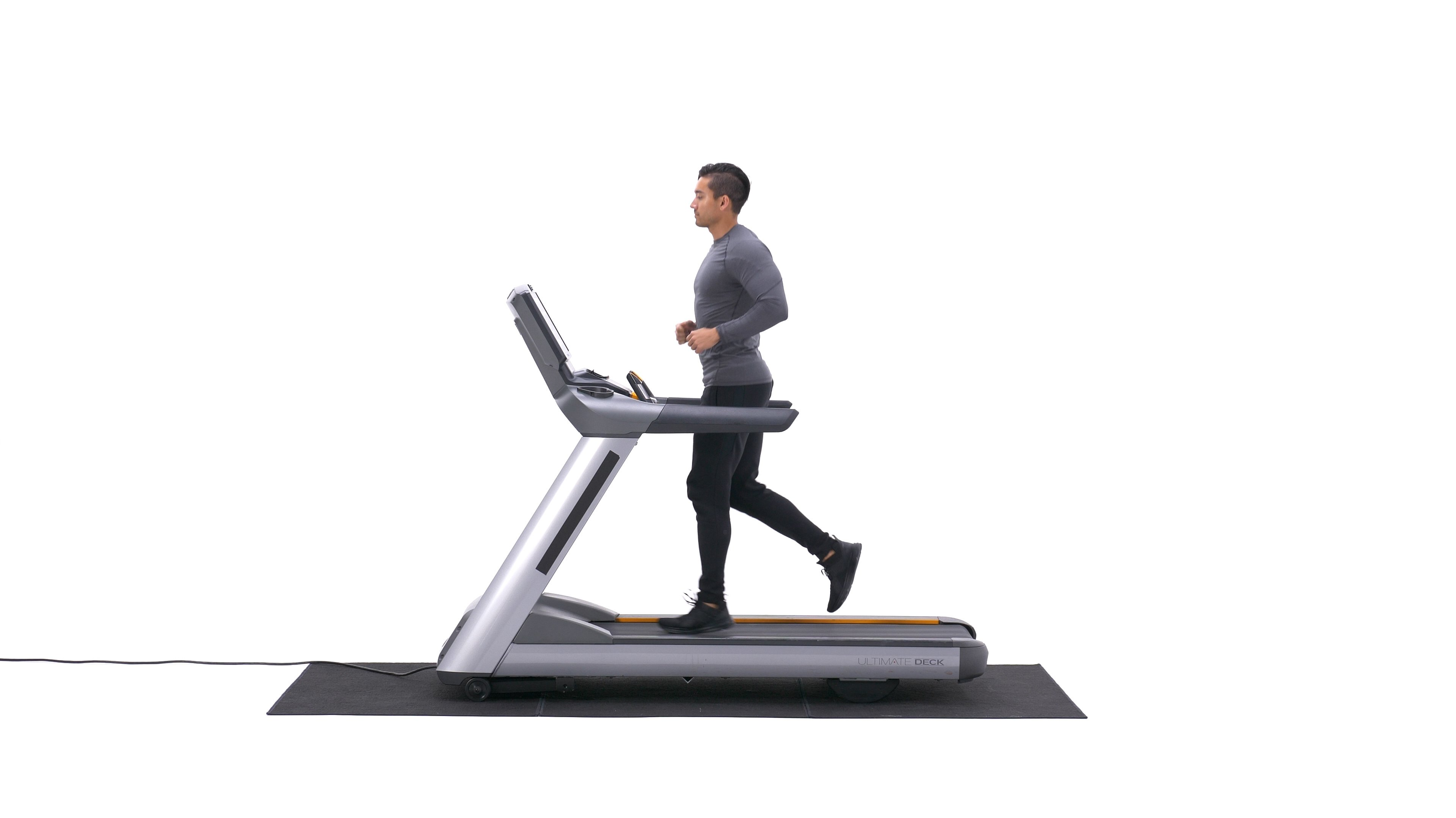 Treadmill jogging image