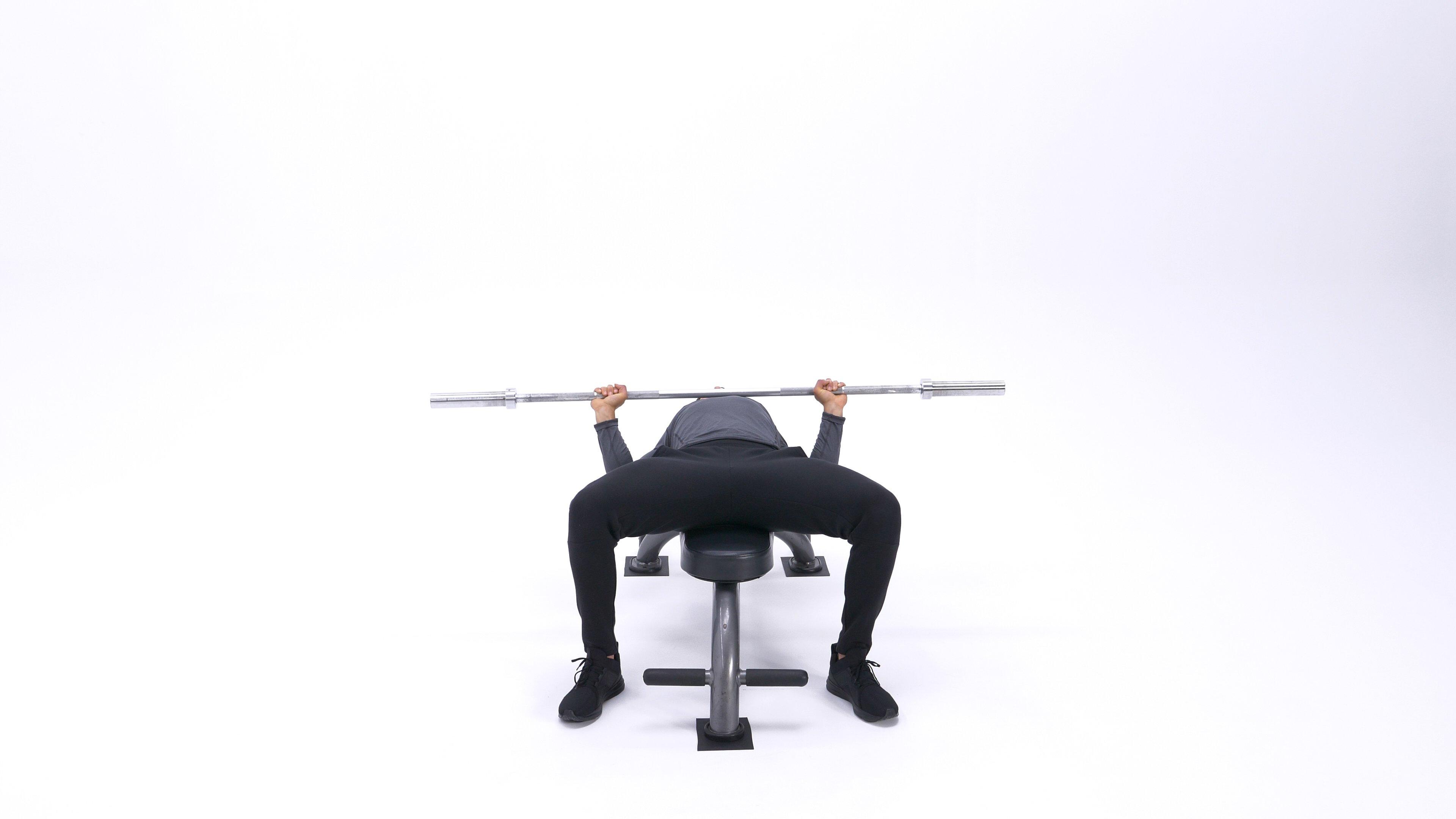 Barbell Bench Press - Medium Grip image