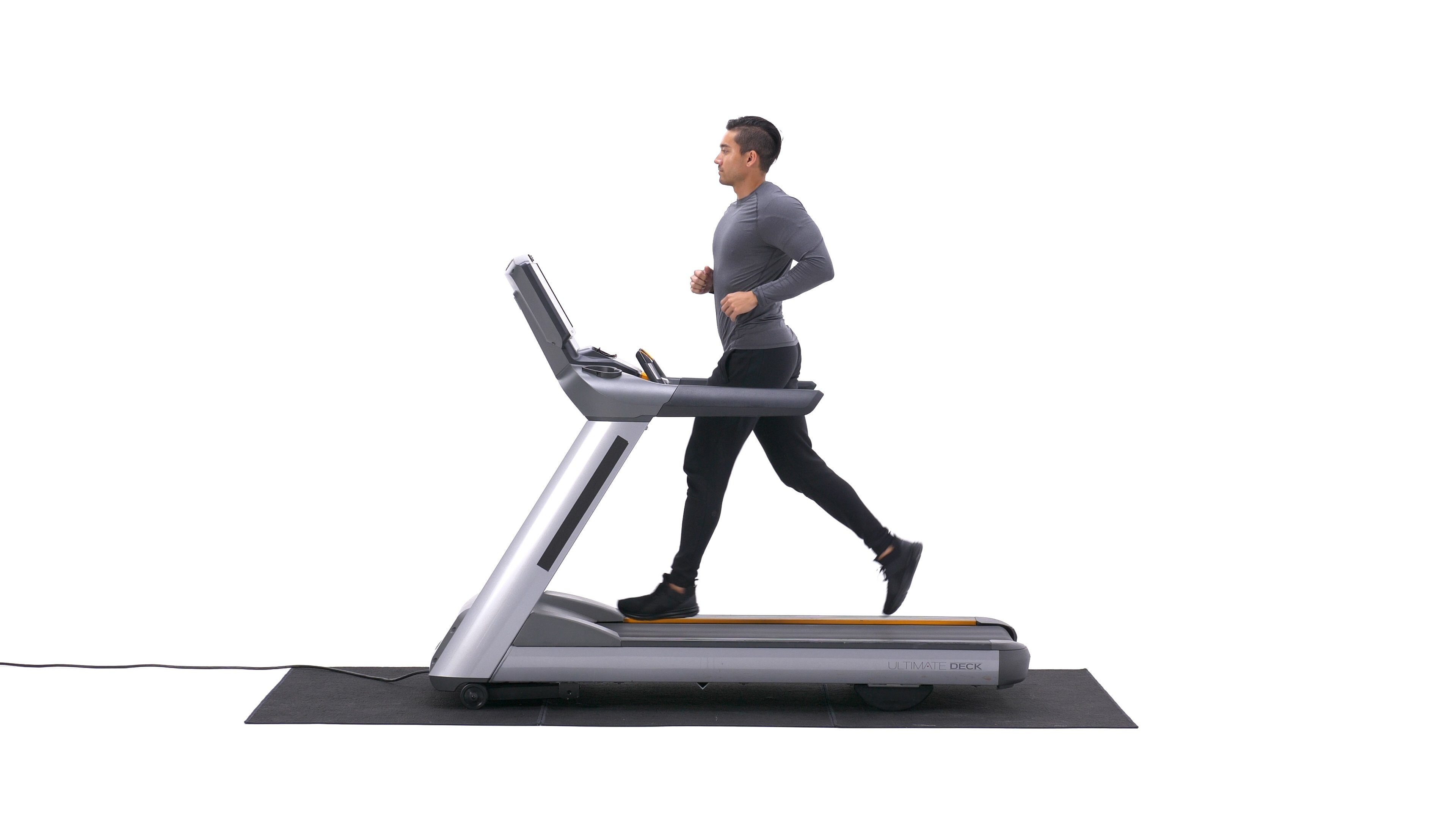 Treadmill running image