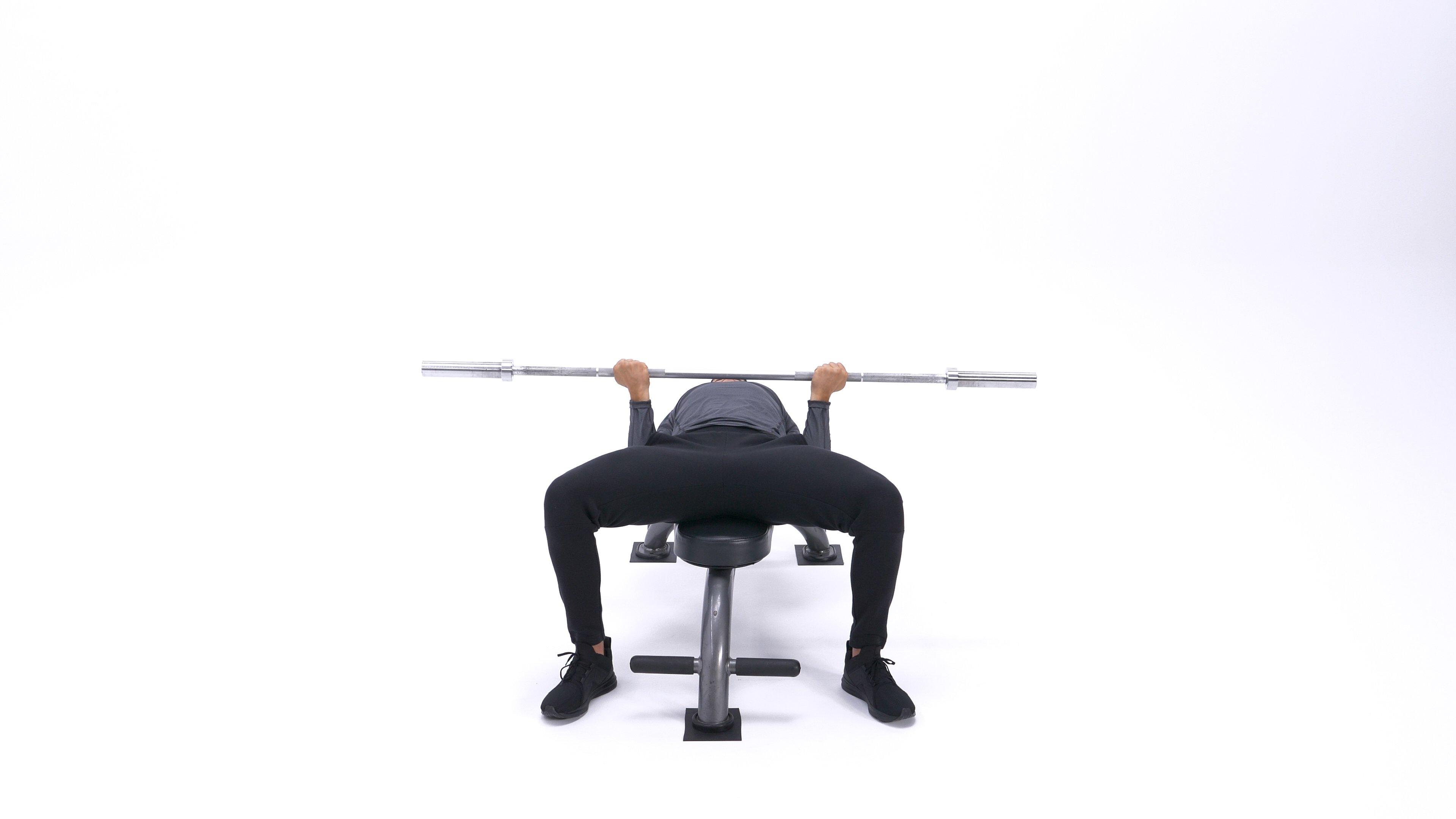 Reverse-grip bench press image