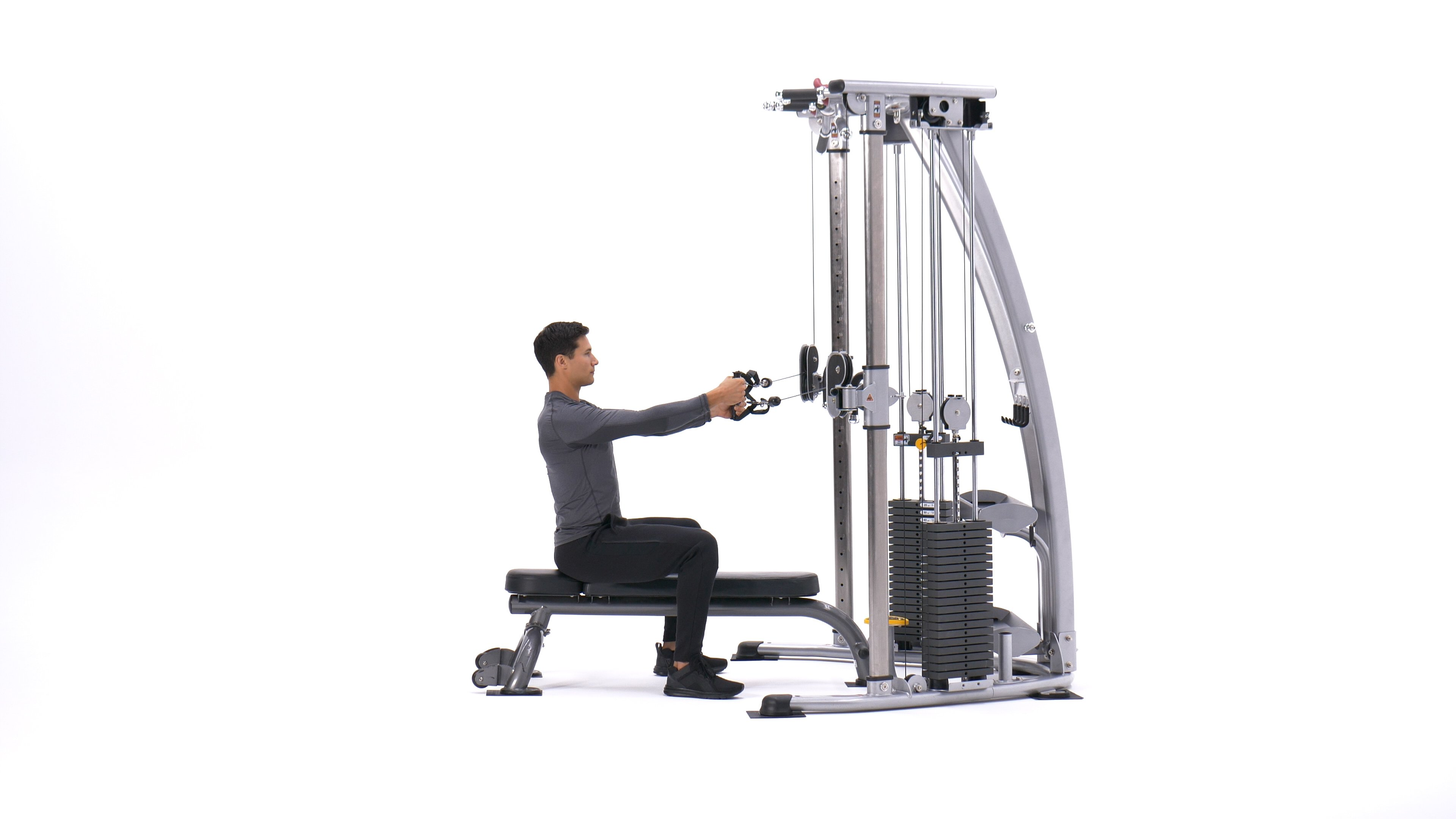 Cable Seated Lateral Raise image