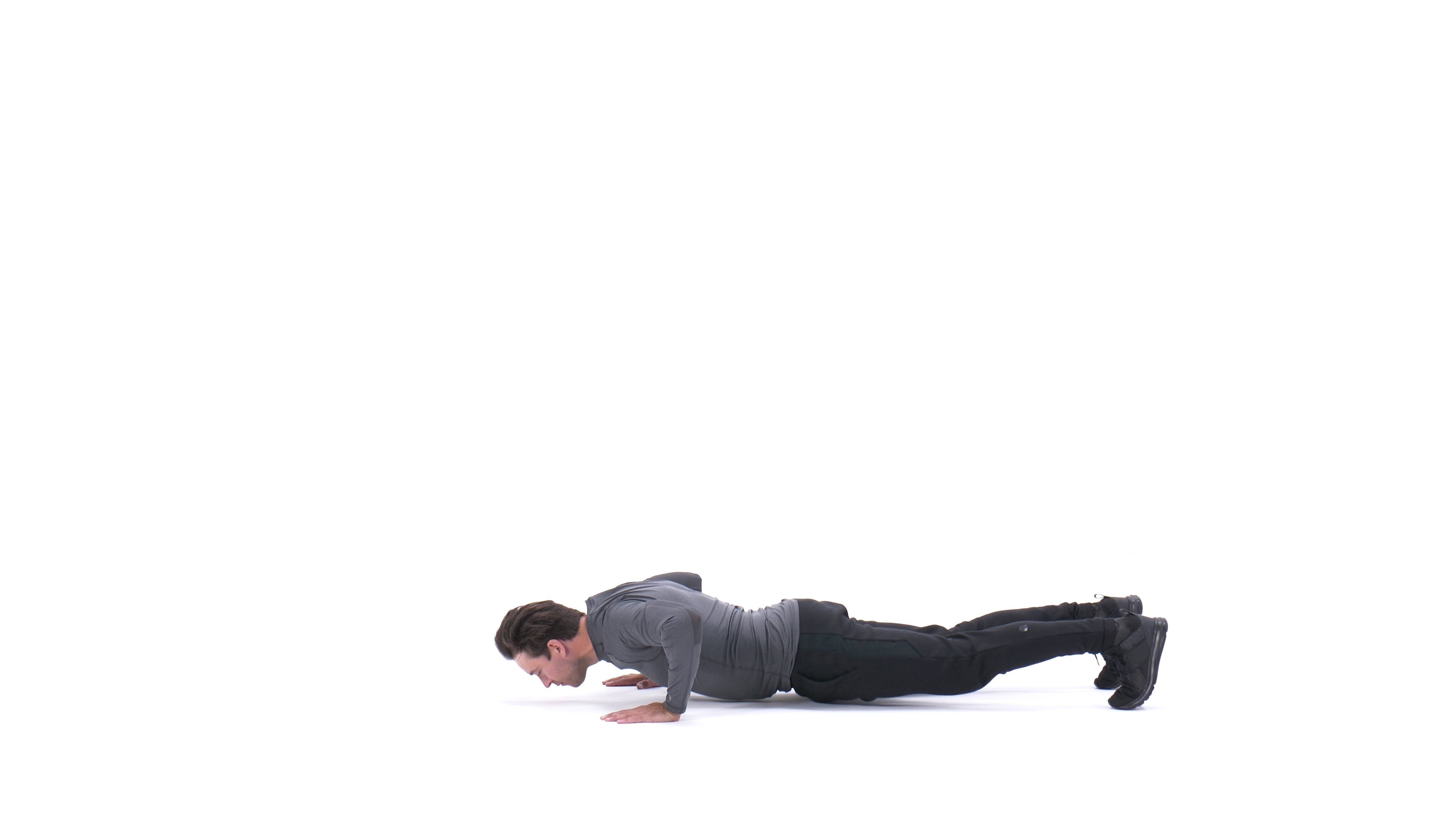 Clapping Push-Up image