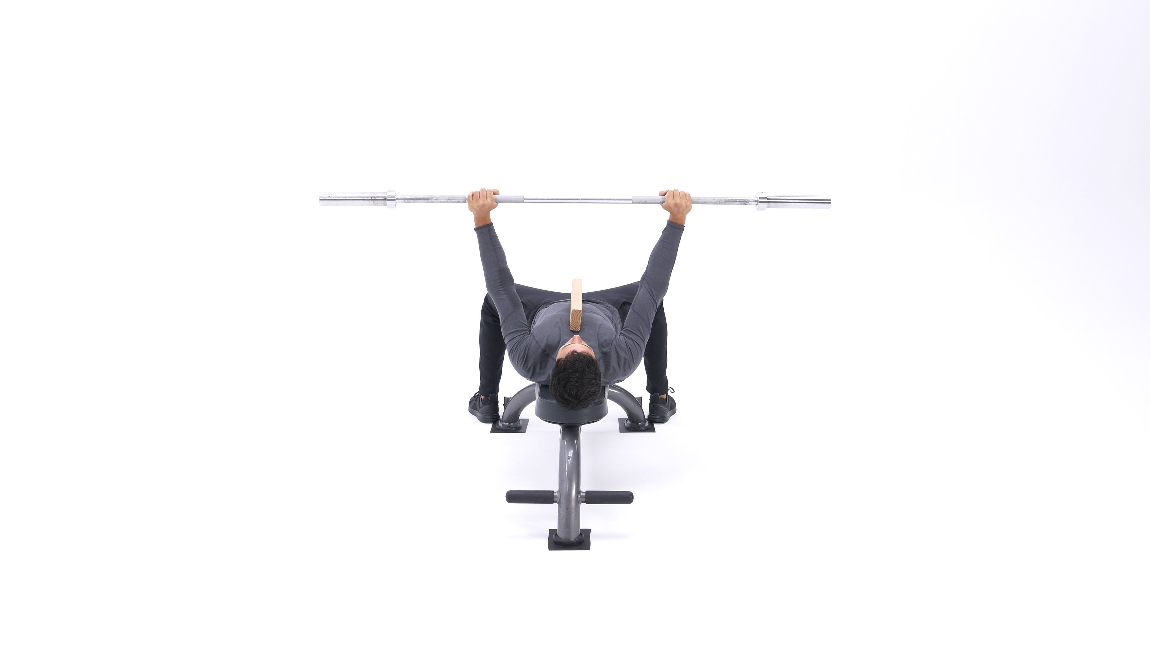 Board bench press image