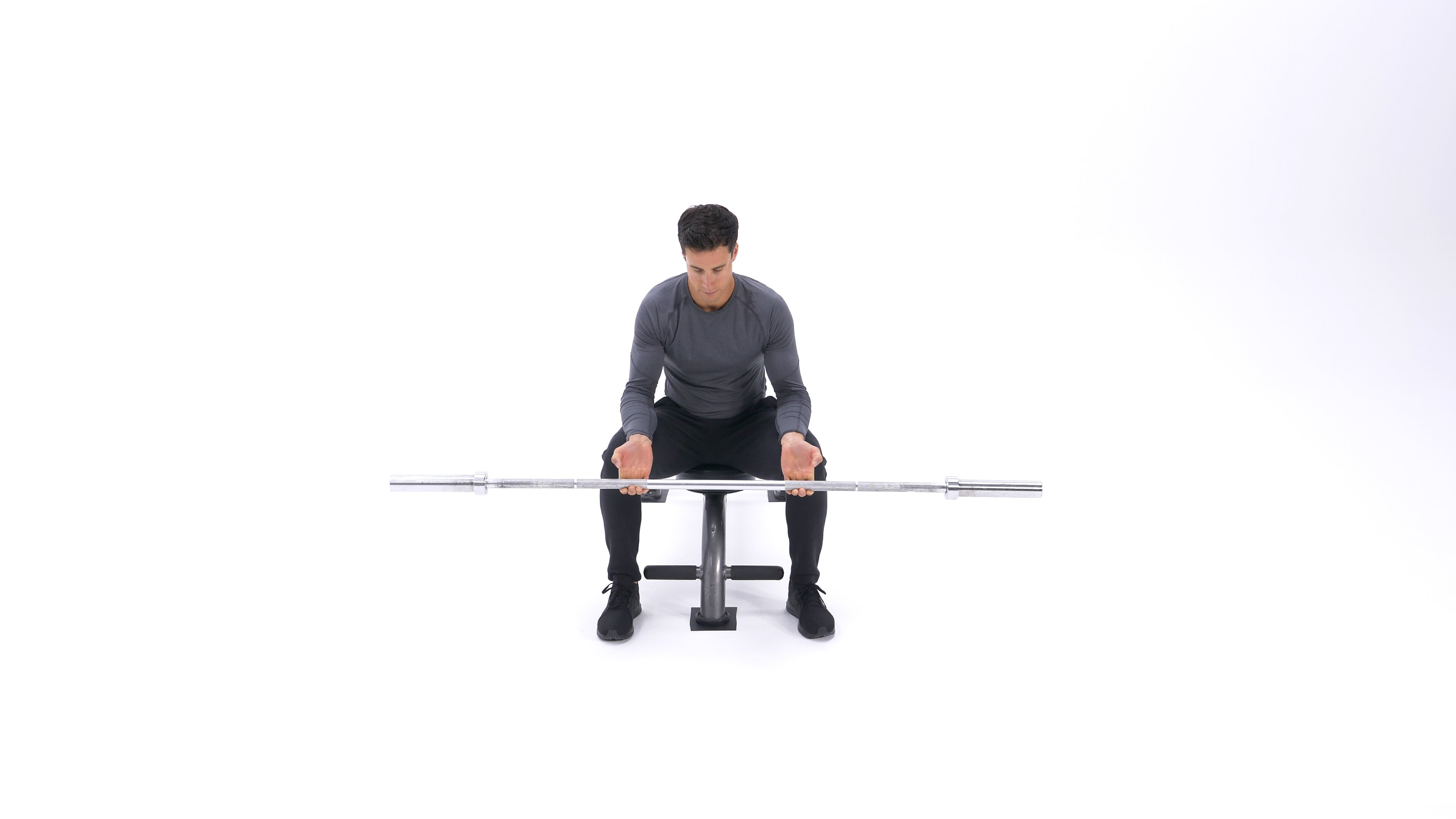 Seated finger curl image
