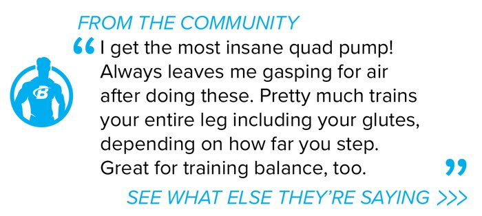 Split squat forum quote