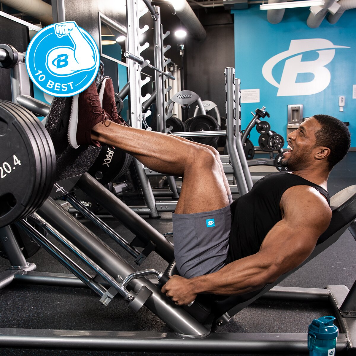 10 Best Leg Exercises for Building Muscle