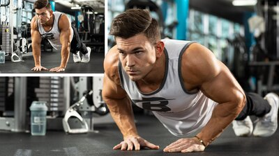 Best Bodyweight Choice: Close-Grip Push-Up