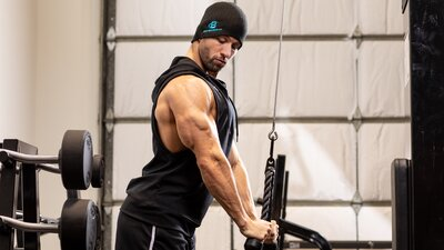 Hard and Heavy Triceps Workout
