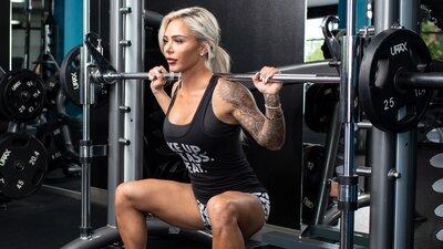 Machine Pump Leg Workout