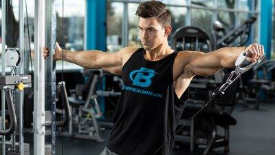 Machine Pump Shoulder Workout