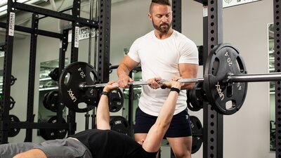 Spotting 101: How to Spot the Bench, Squat, and Dumbbell Press banner