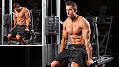 Triceps Machine Dip