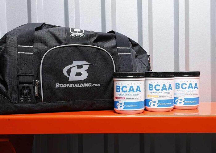 Duffel bag and BCAAs