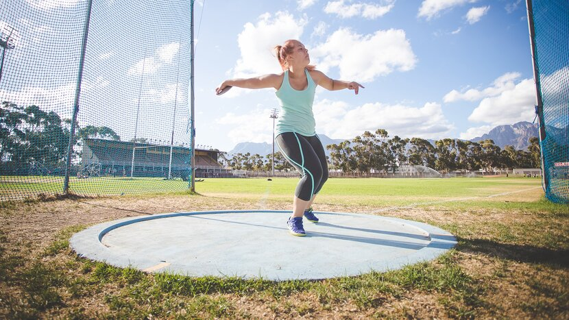 Discus Gold Medalist Shows Why Carbs Are for Winners