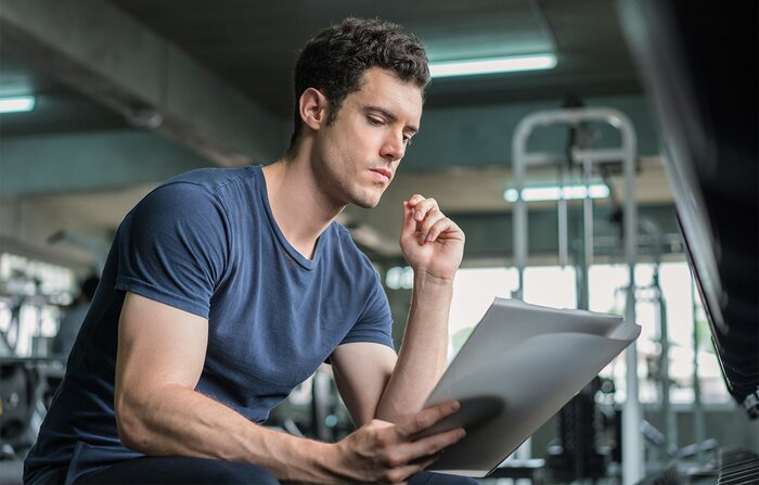 Studying a training plan