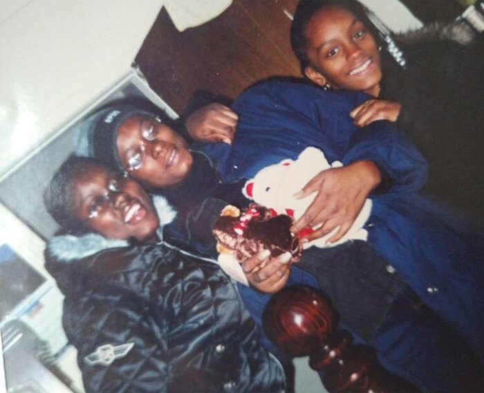 Starr Scott y familia