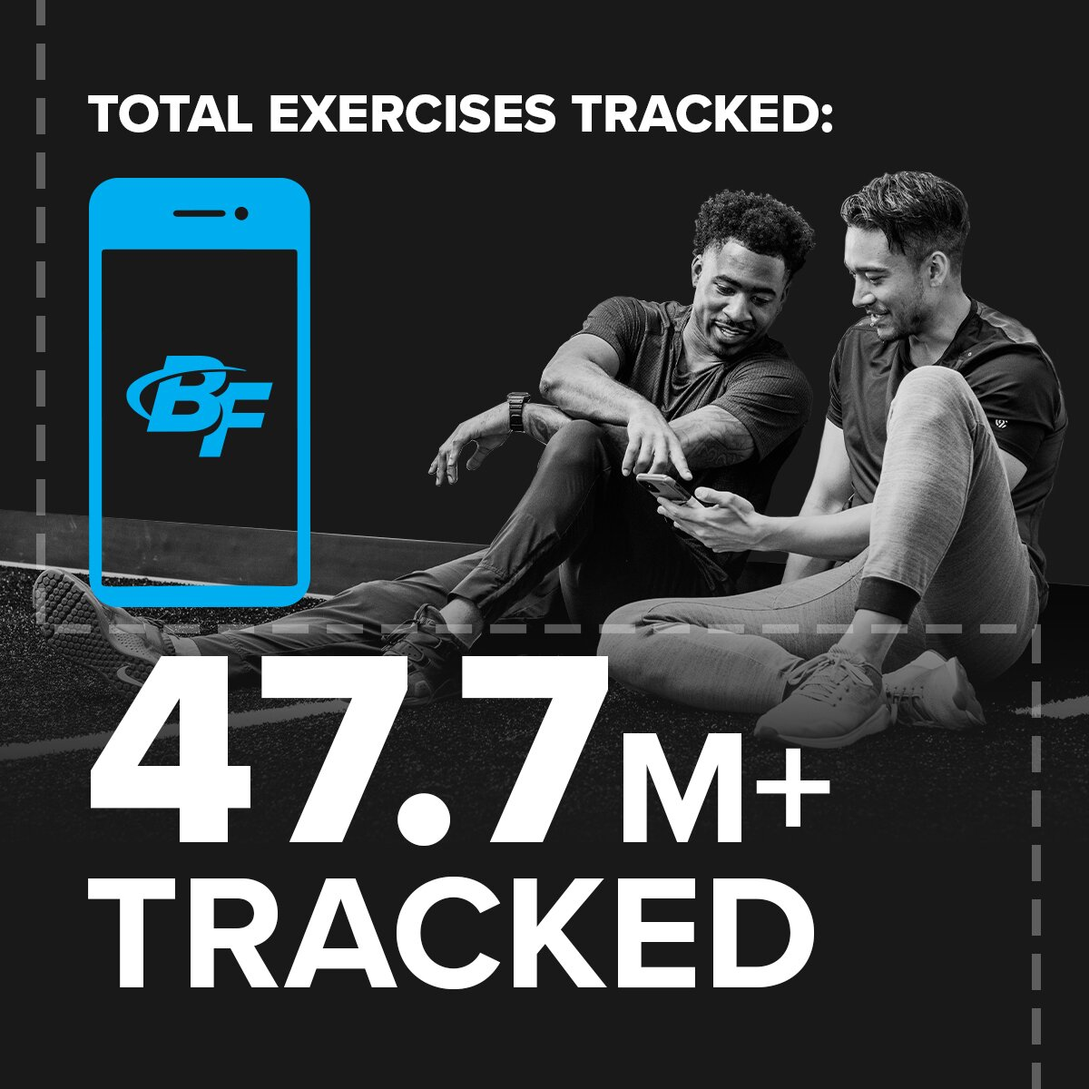 13 total exercises tracked Stronger Together: Your Year in Fitness 2020