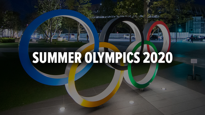 Tokyo 2020 Summer Olympics banner