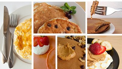 Protein Pancake Recipes: Start Your Day Strong! banner