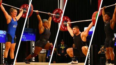 2021 USA Weightlifting Nationals Highlights banner