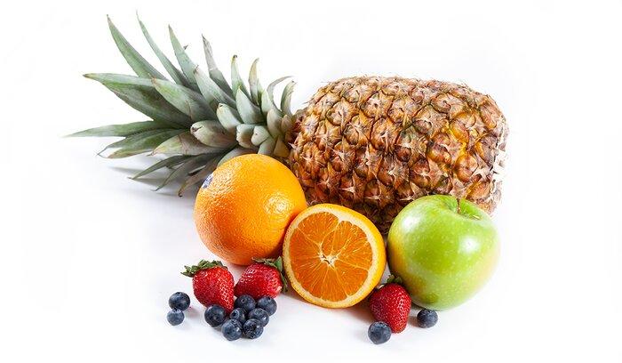 Different citrus fruits